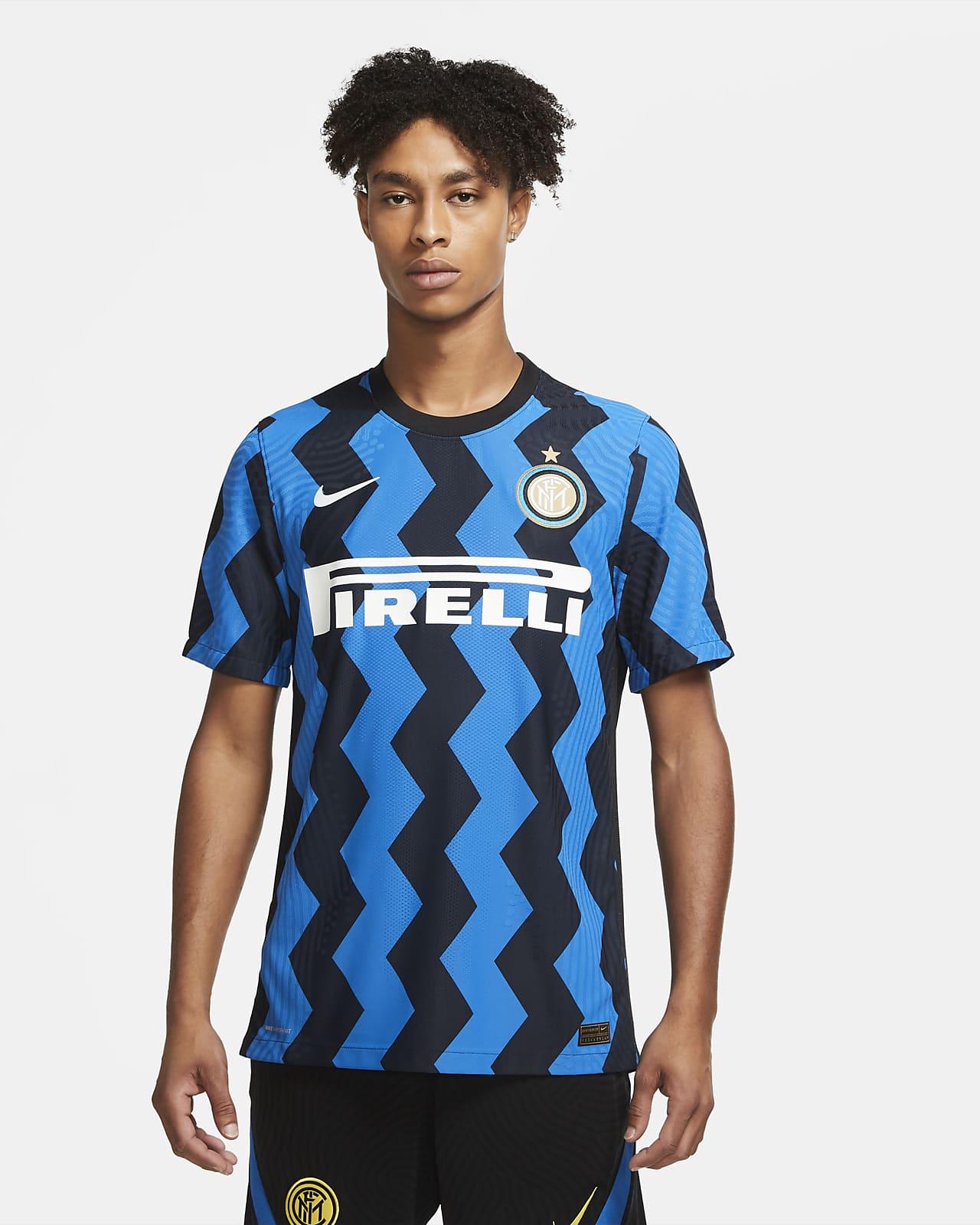 Męska koszulka piłkarska Inter Mediolan Vapor Match 2020/21 (wersja domowa)