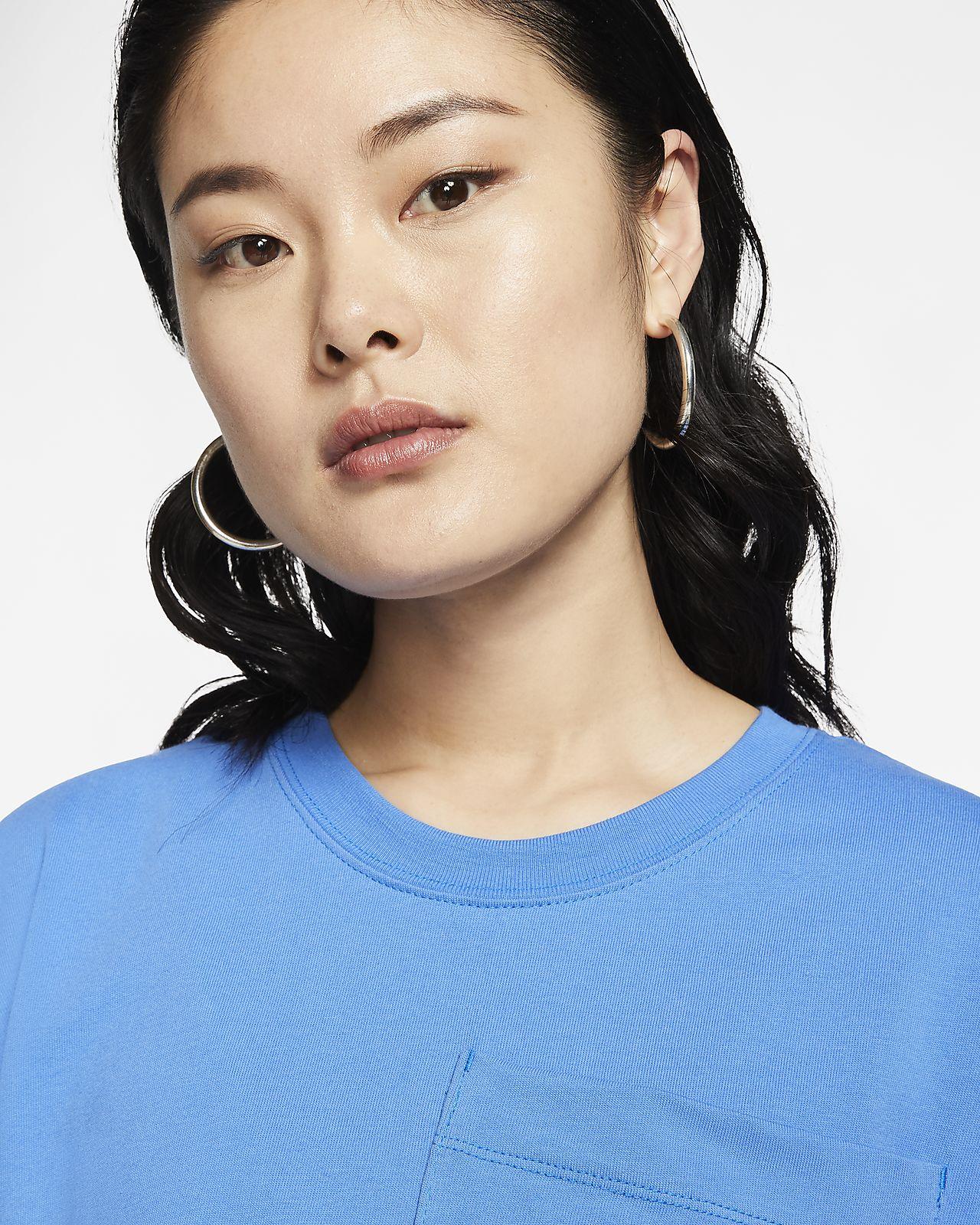 Crop top à manches courtes Nike Sportswear pour Femme. Nike FR