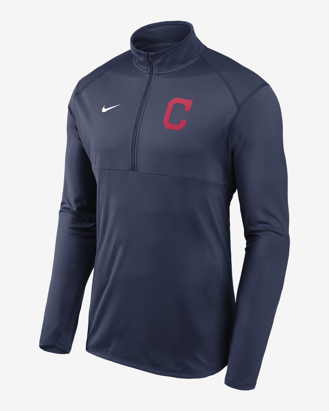 Nike Dri-FIT Element Performance (MLB Cleveland) Men's 1/2-Zip Pullover
