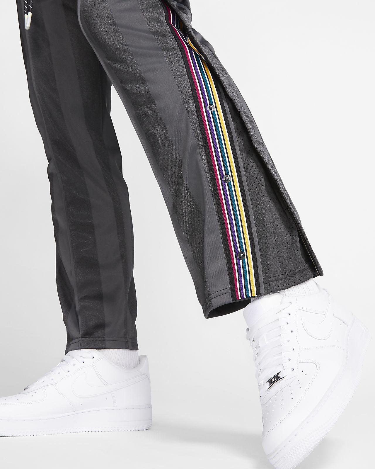 pantaloni nike con bottoni laterali donna