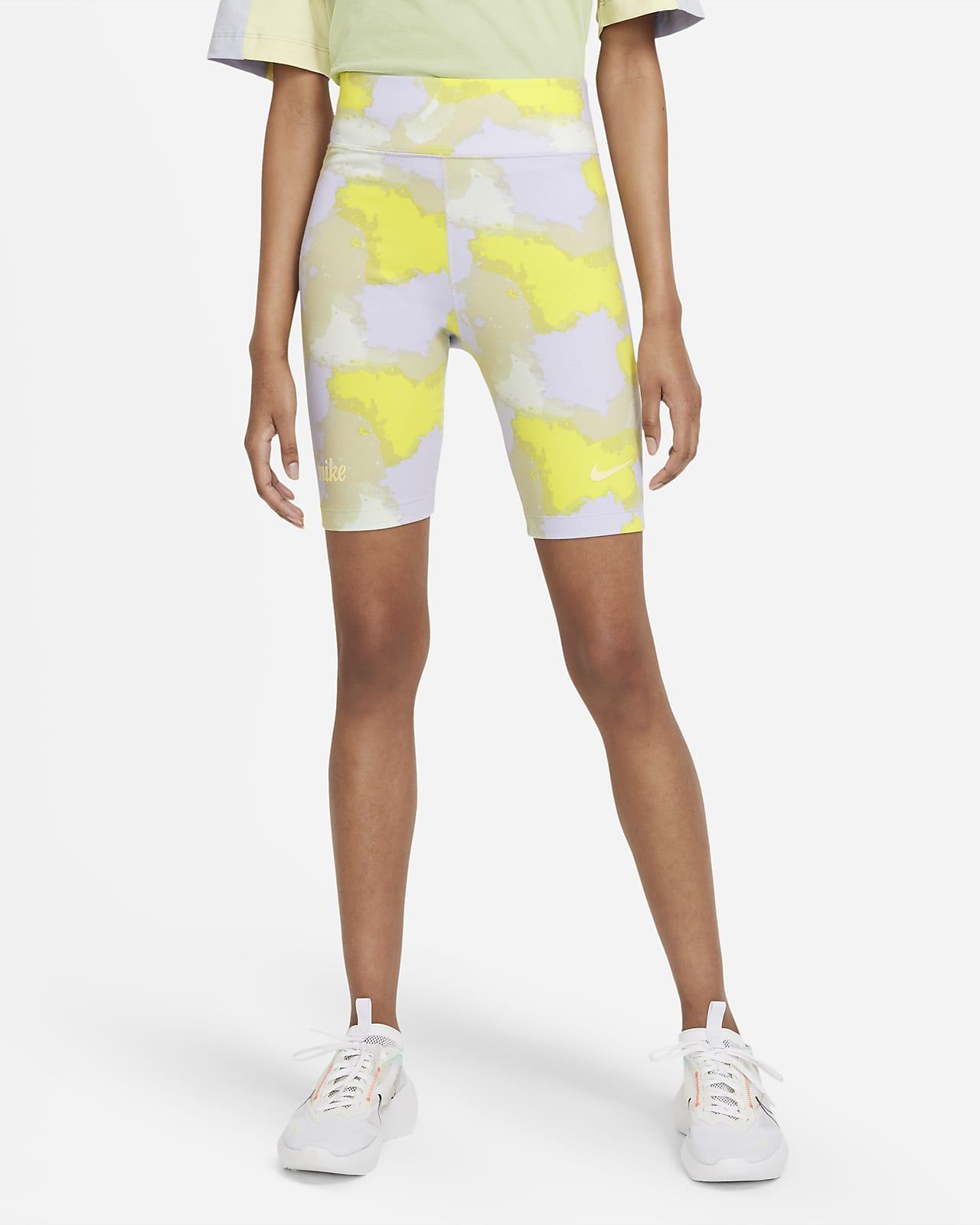 Shorts de ciclismo de cintura alta para mujer Nike Sportswear