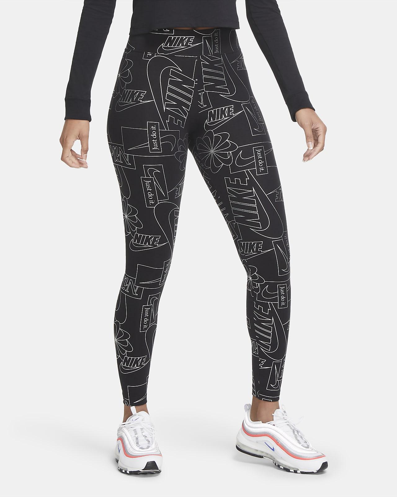 Женские леггинсы с высокой посадкой Nike Sportswear Icon Clash