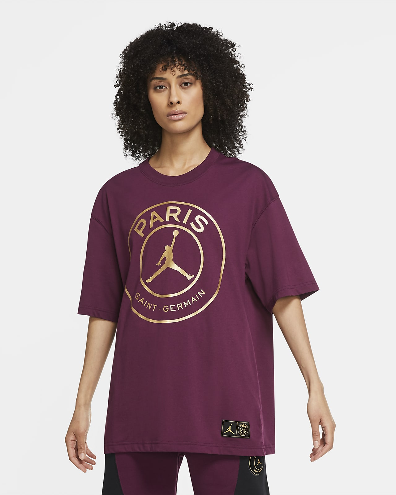 Paris Saint-Germain extragroßes Damen-T-Shirt