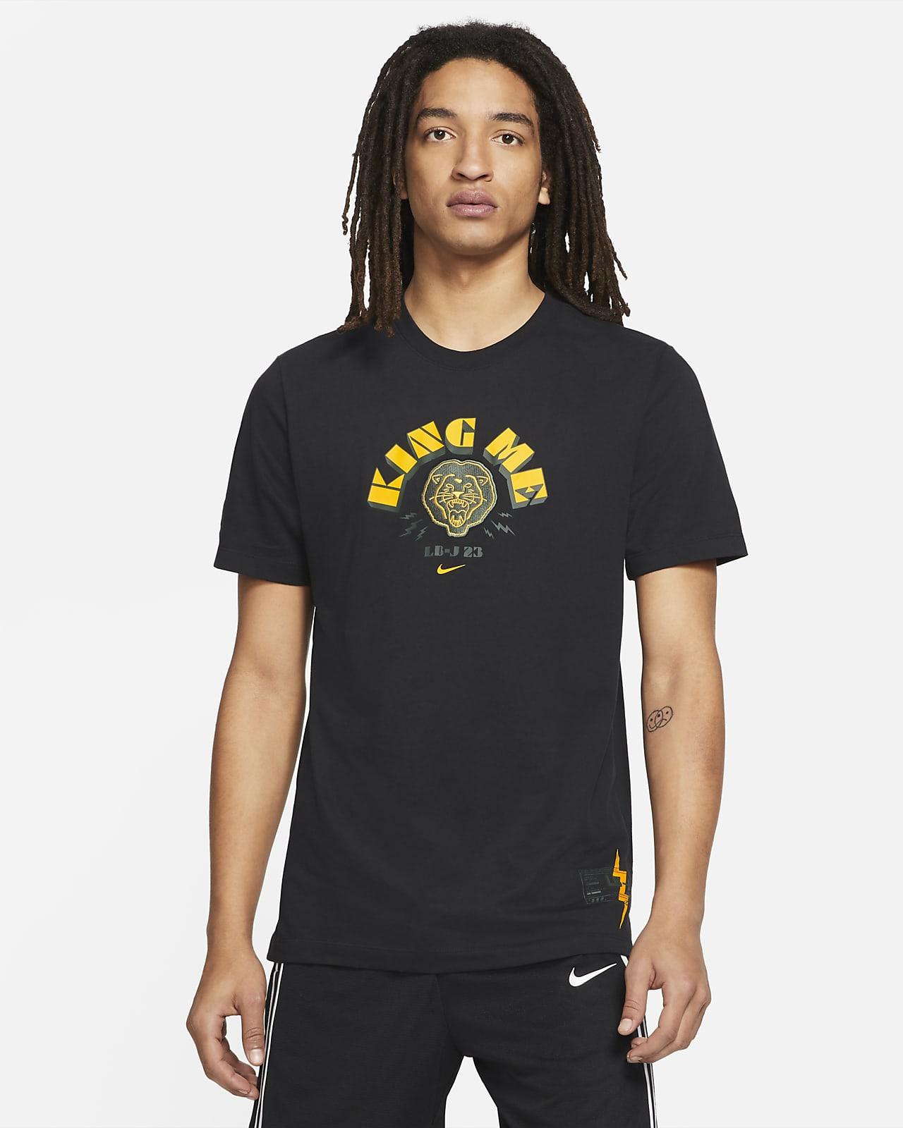 """Nike Dri-FIT LeBron """"King Me"""" Men's Basketball T-Shirt"""