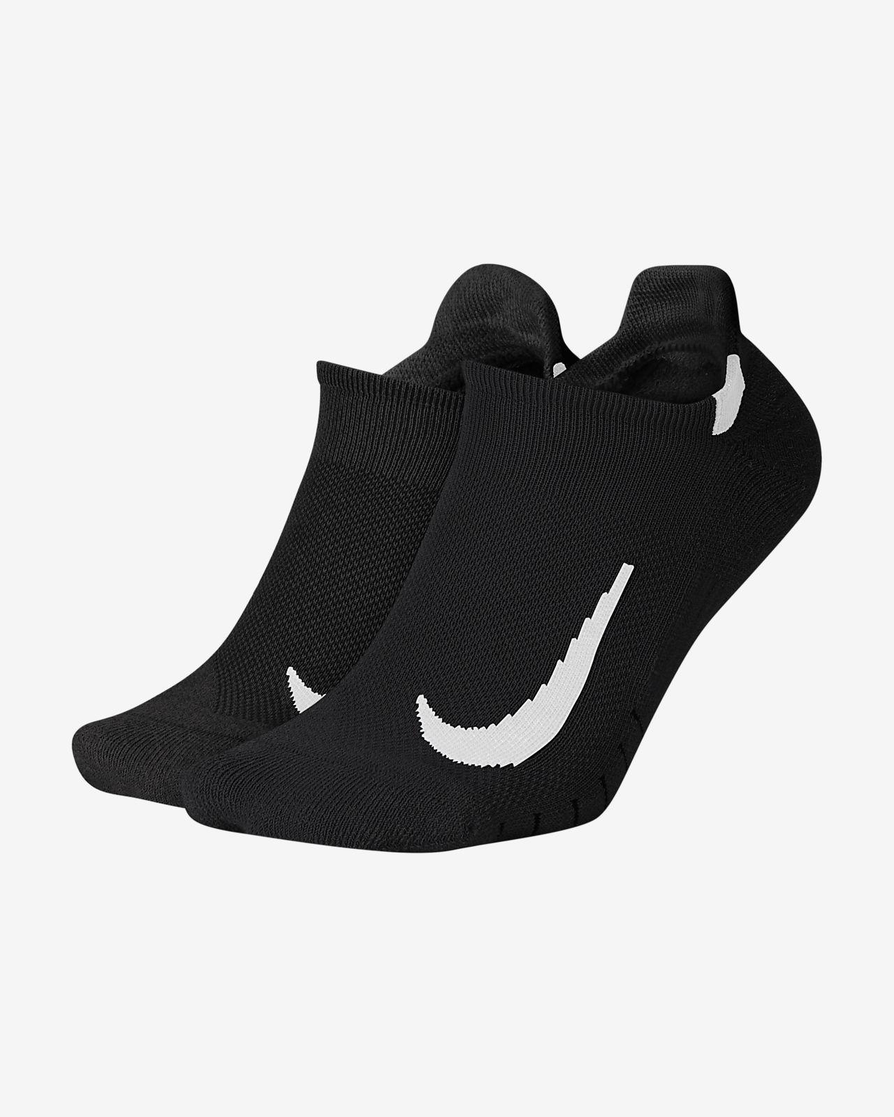 Meias Nike Multiplier No-Show (2 pares)