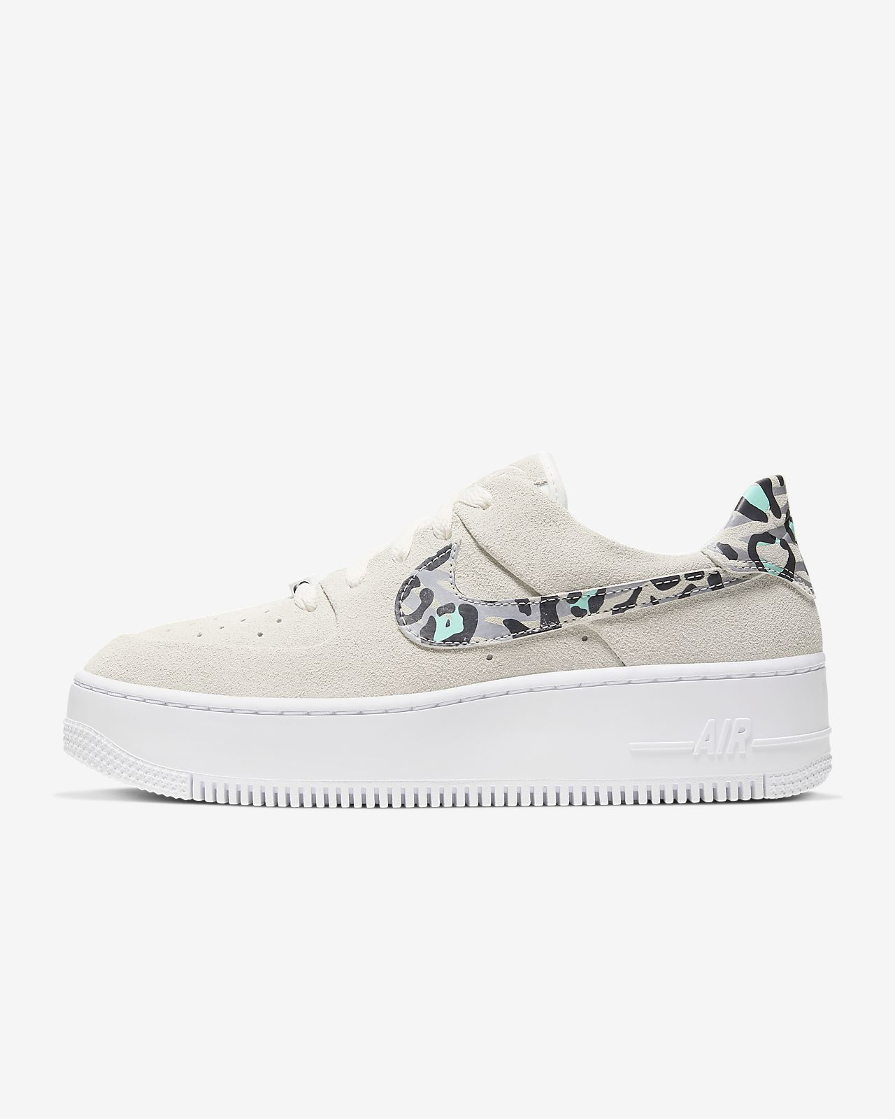 nike air force 1 sage sort