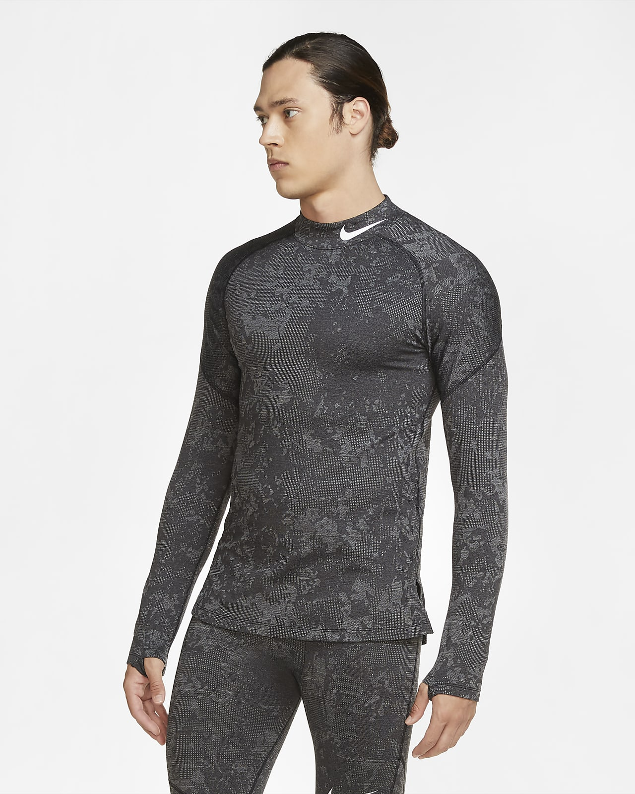 Nike Pro Warm Utility Men's Long-Sleeve Training Top