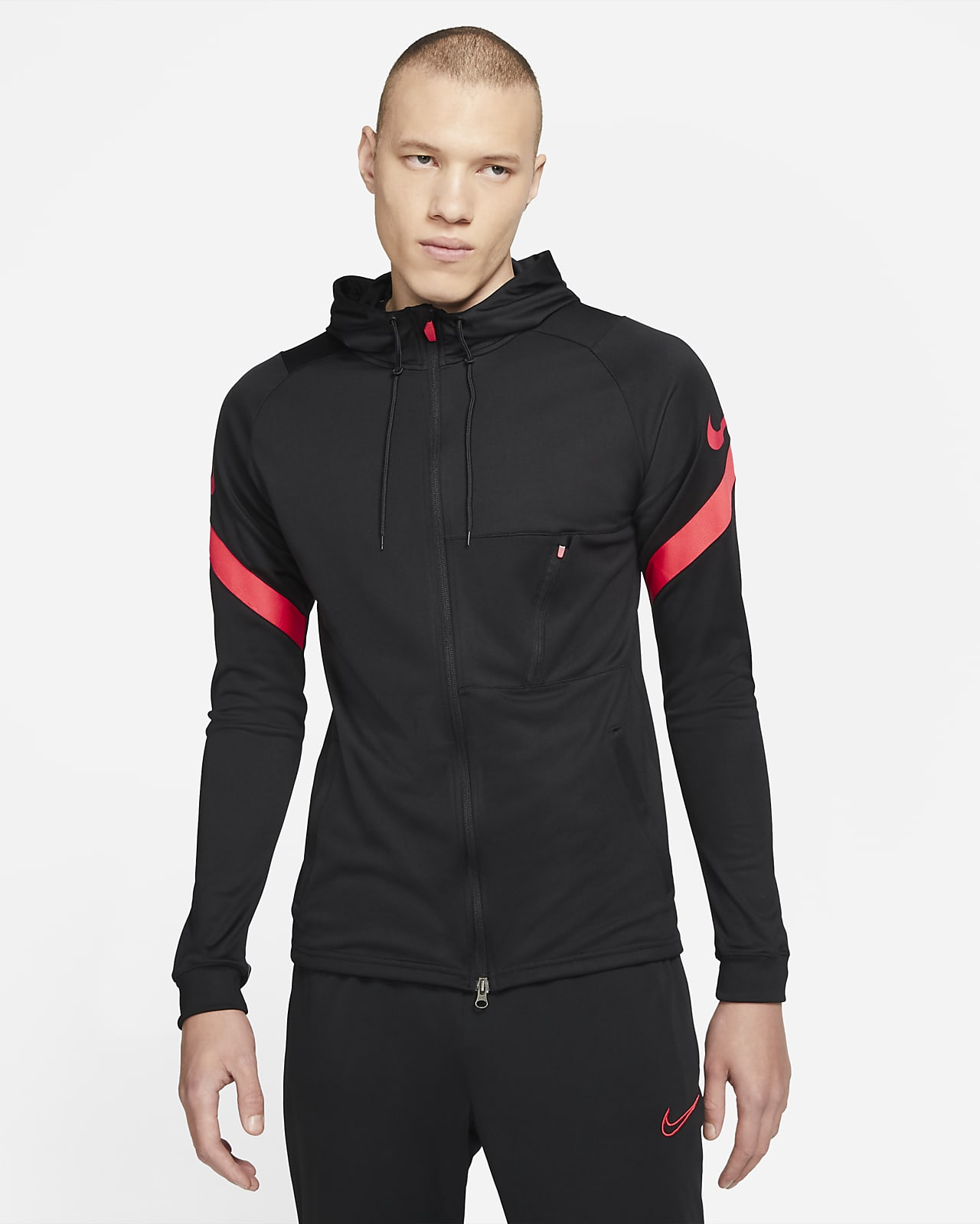 Nike Dri-FIT Strike Men's Full-Zip Hooded Soccer Jacket