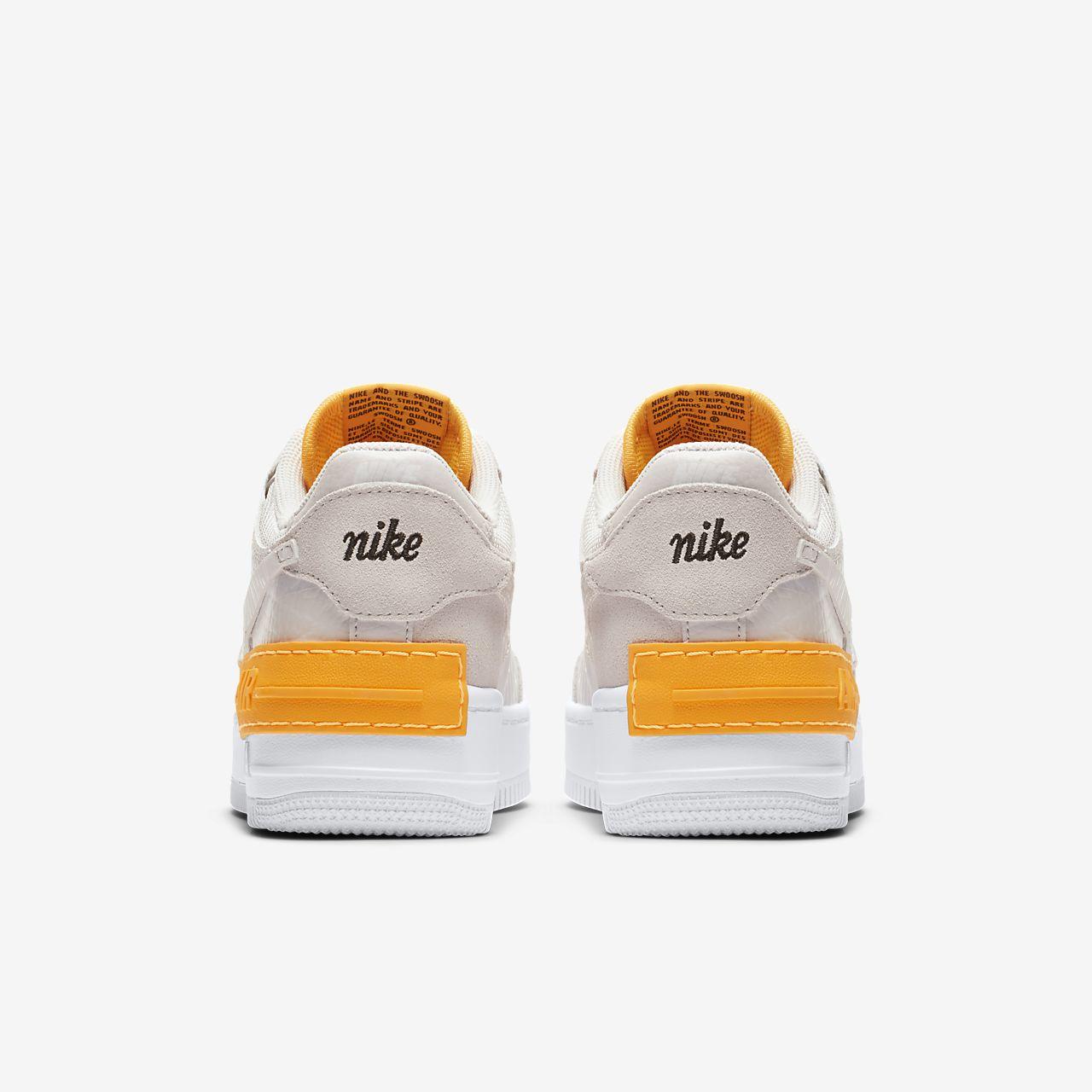 nike air Force en orange og hvid