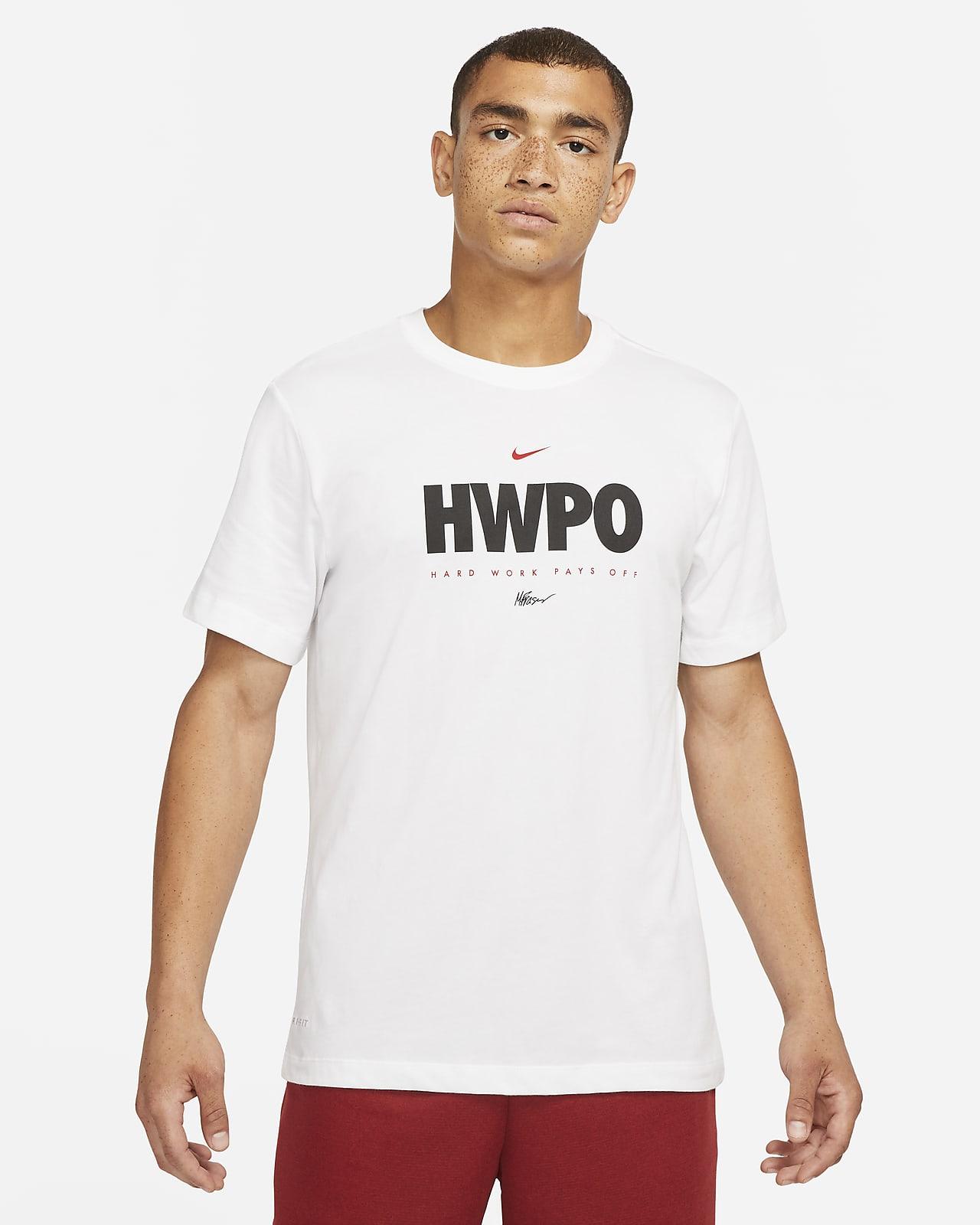 """Tränings-t-shirt Nike Dri-FIT """"HWPO"""" för män"""