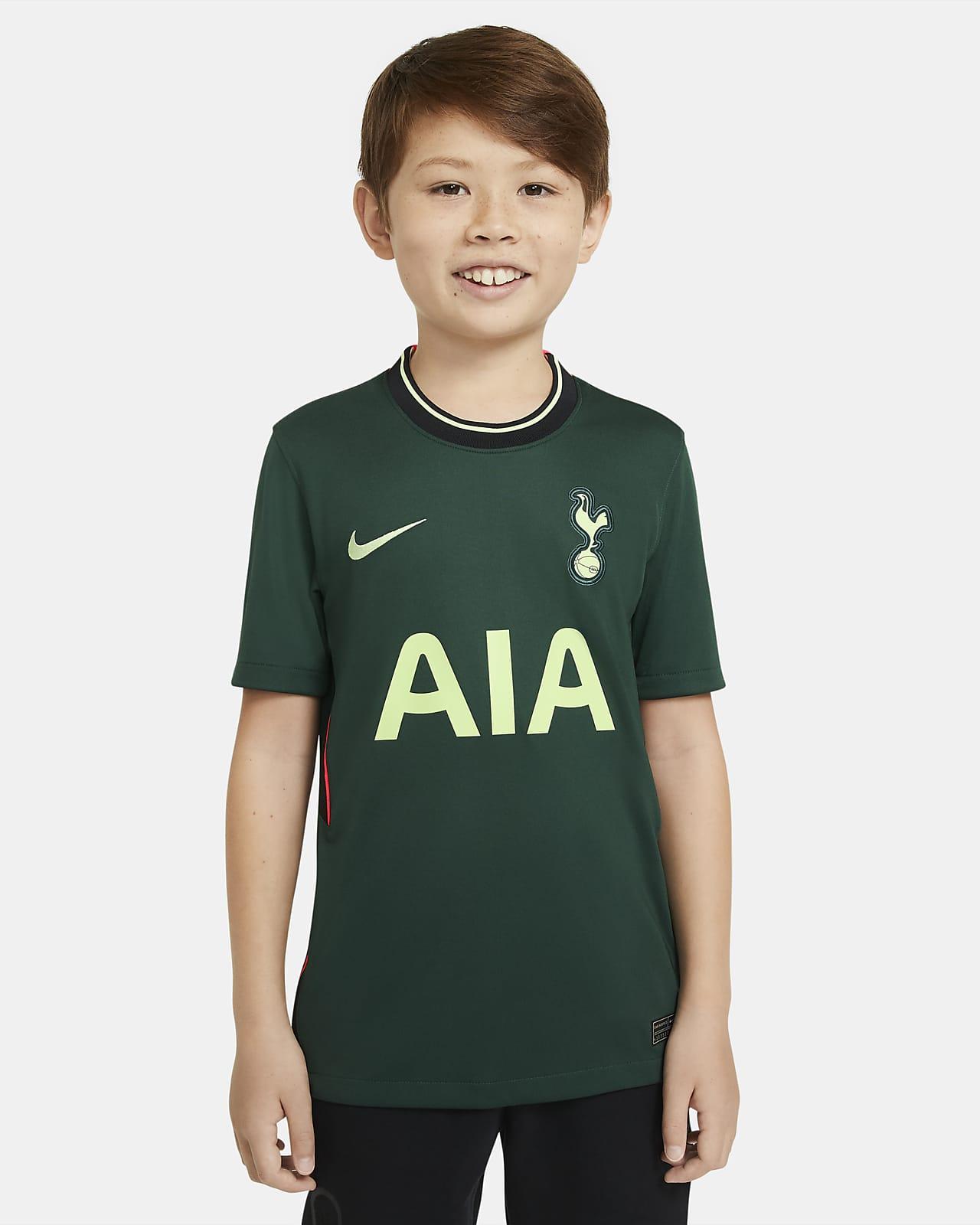 Tottenham Hotspur 2020/21 Stadium Away Big Kids' Soccer Jersey