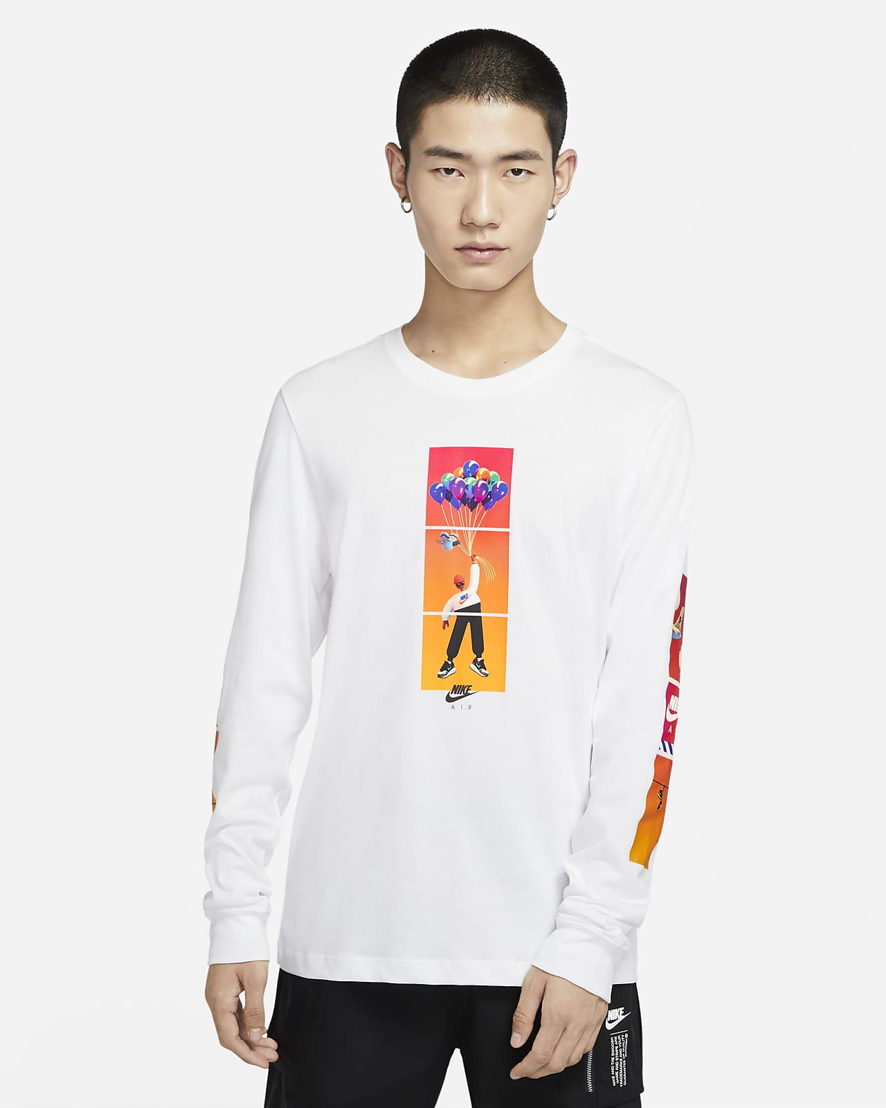 Nike Air Men's Long-Sleeve T-Shirt