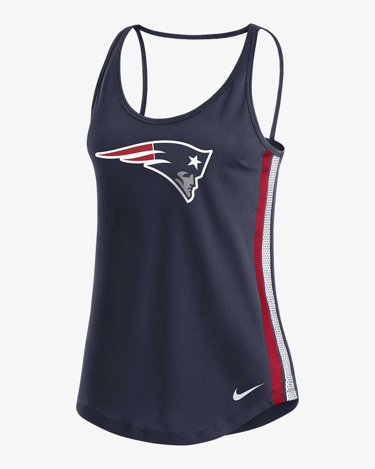 Nike Dri-FIT (NFL New England Patriots) Women's Open Back Tank Top