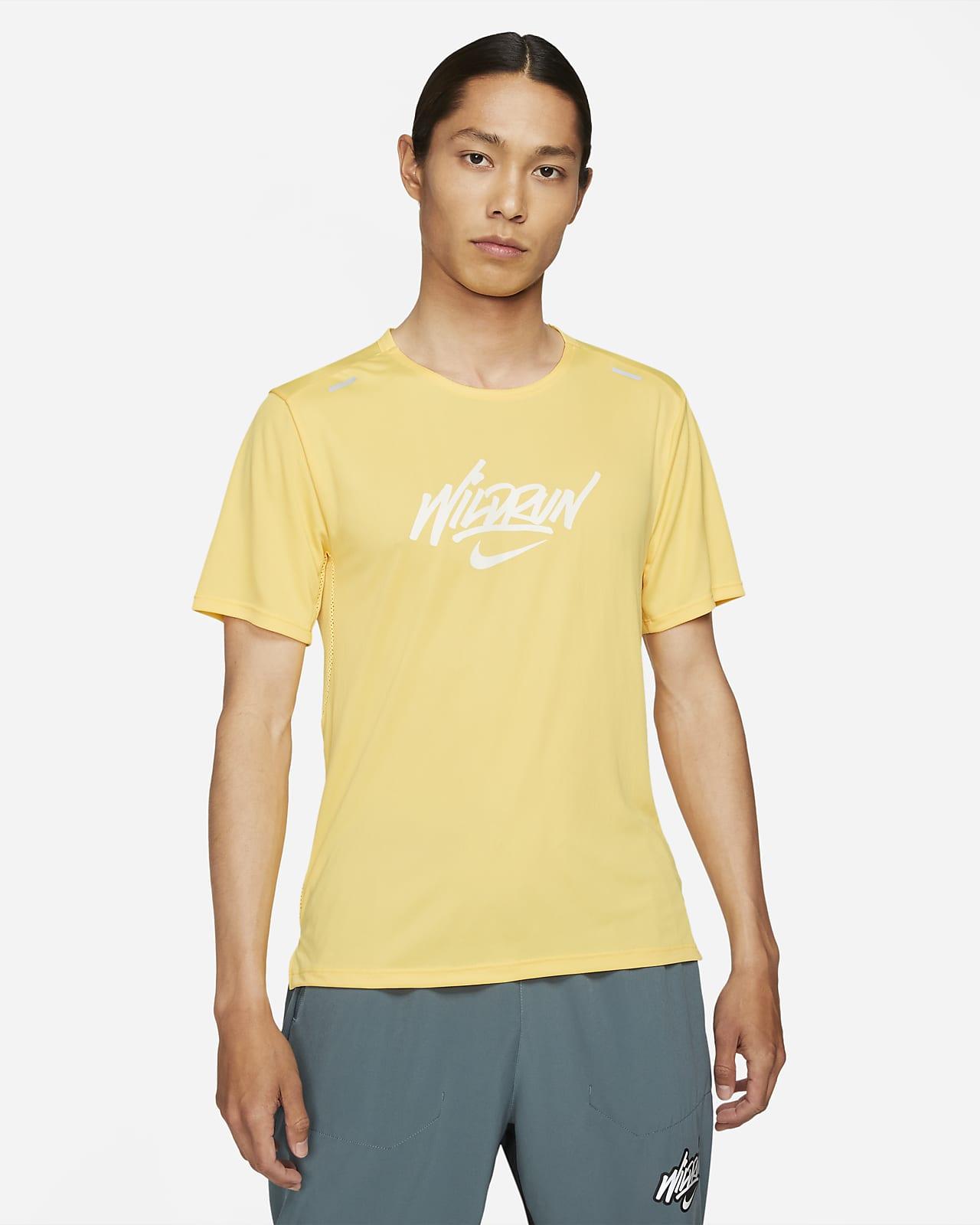 Nike Rise 365 Wild Run Men's Short-Sleeve Running Top