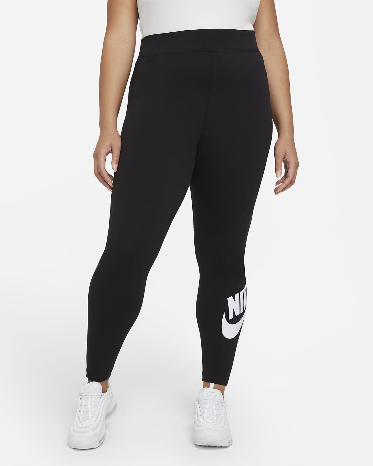 Nike Sportswear Essential Leggings de talle alto (Talla grande) - Mujer