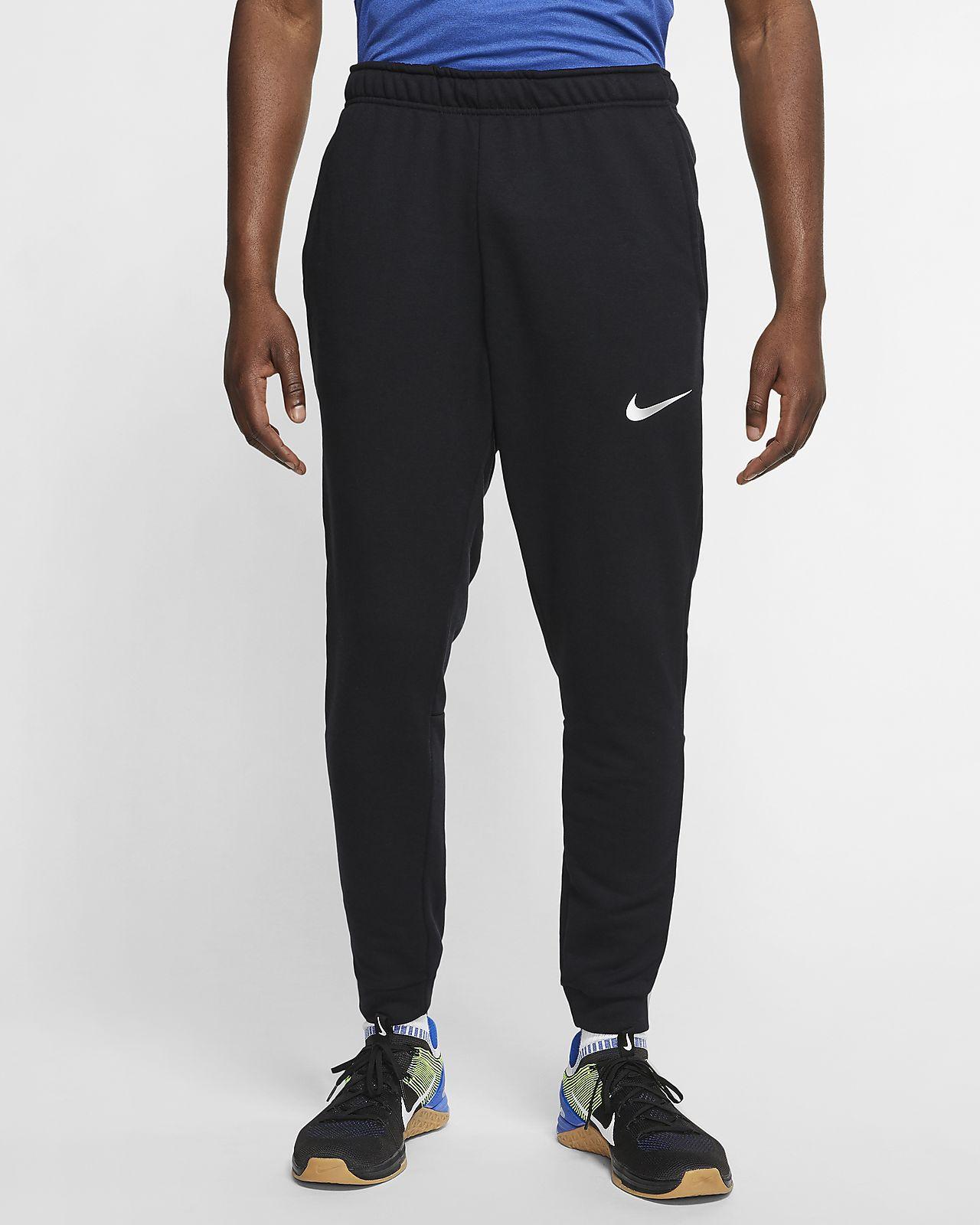 กางเกงเทรนนิ่งผ้าฟลีซผู้ชาย Nike Dri-FIT