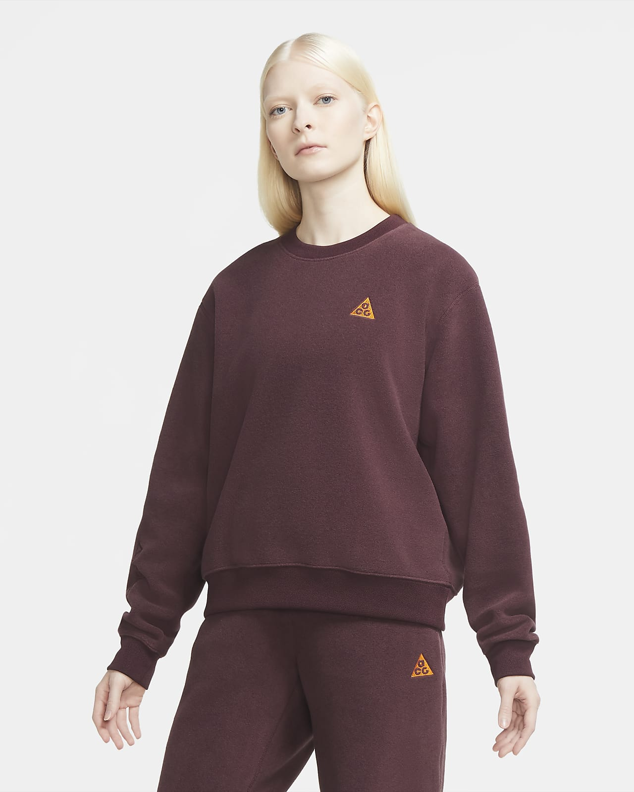 Nike ACG Polartec® 'Wolf Tree' Women's Crew Sweatshirt