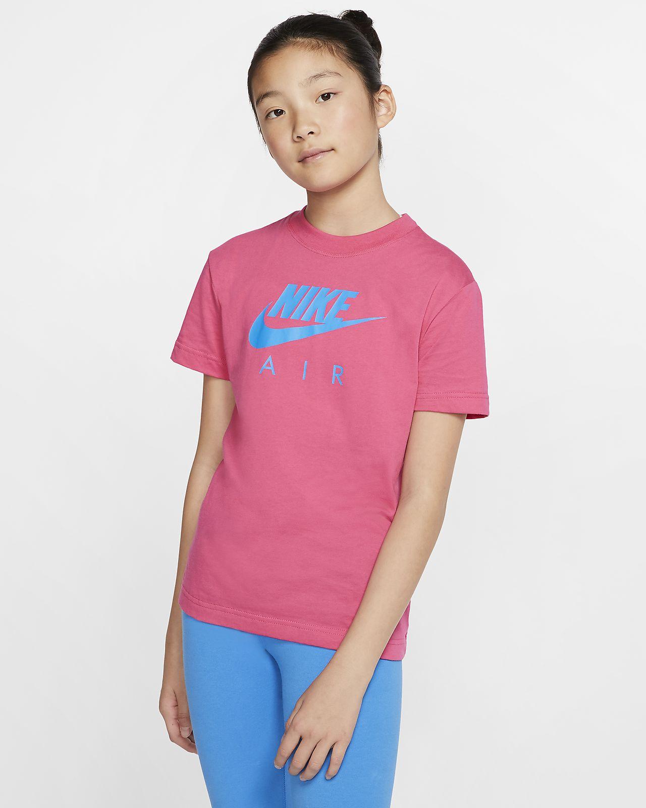 Nike Air Big Kids' (Girls') Cotton T-Shirt