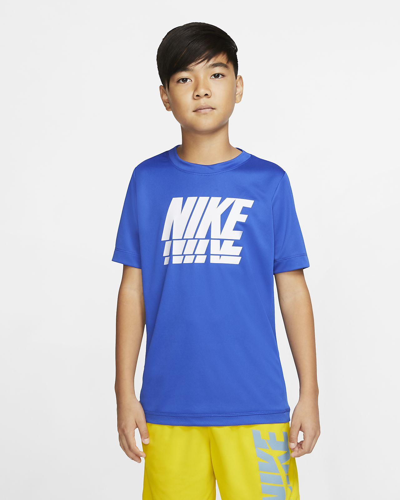 Nike Trophy Older Kids' (Boys') Short-Sleeve Graphic Training Top
