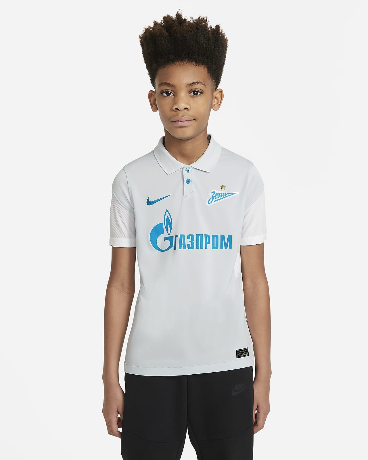 Camiseta de fútbol de visitante para niños talla grande Stadium del Zenit Saint Petersburg 2020/21