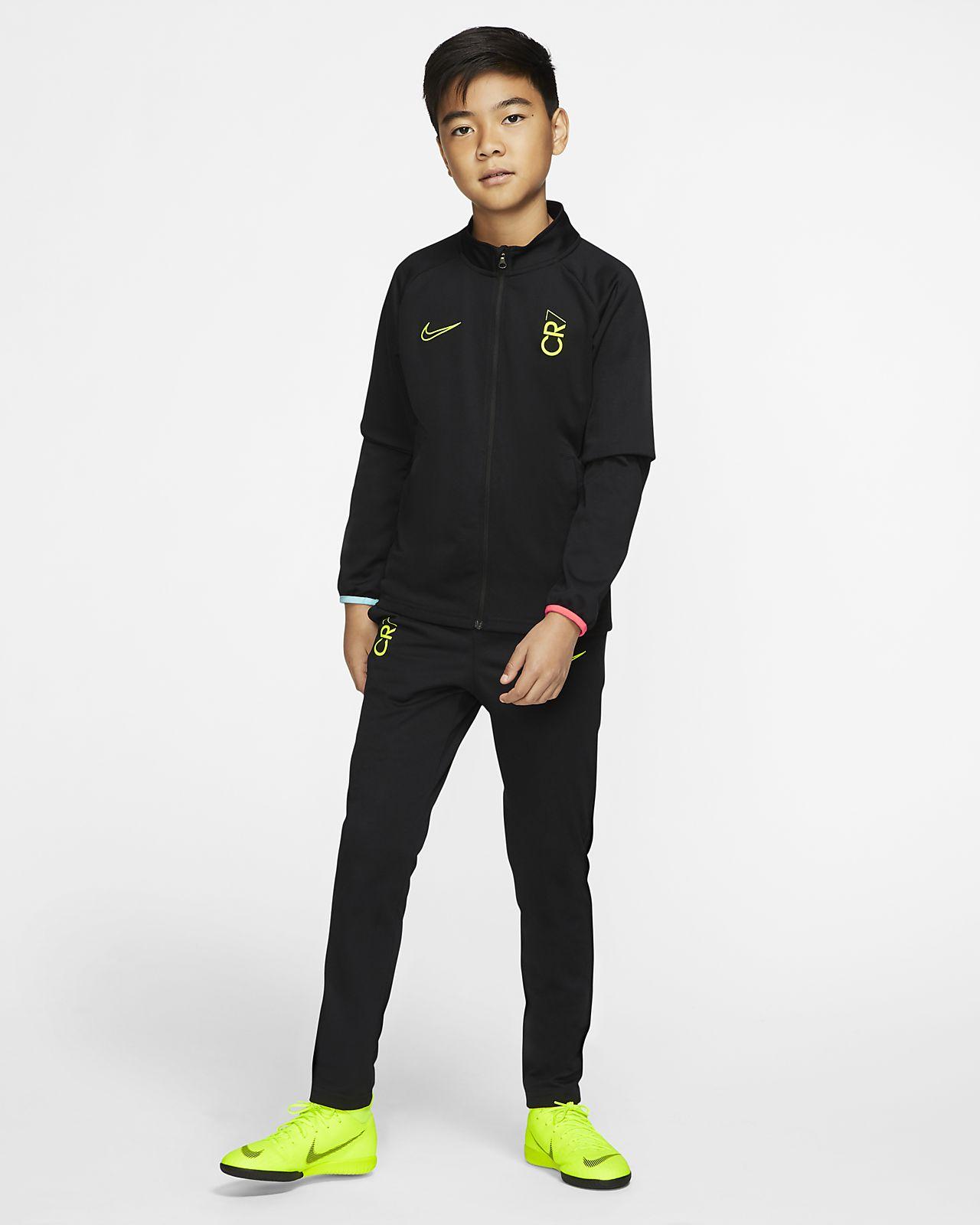 Survêtement de football Nike Dri FIT CR7 pour Enfant plus âgé