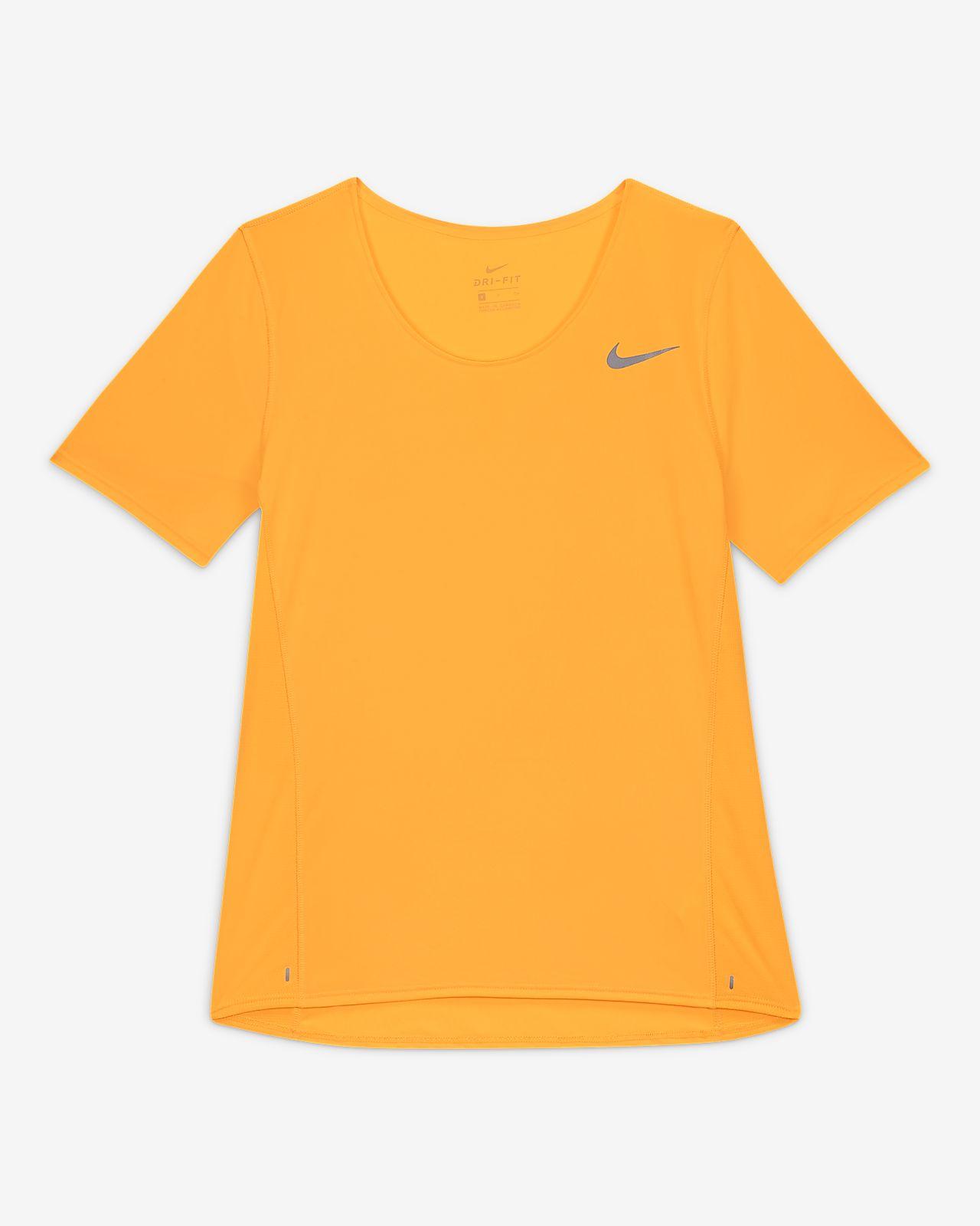 Nike City Sleek Hardlooptop met korte mouwen voor dames