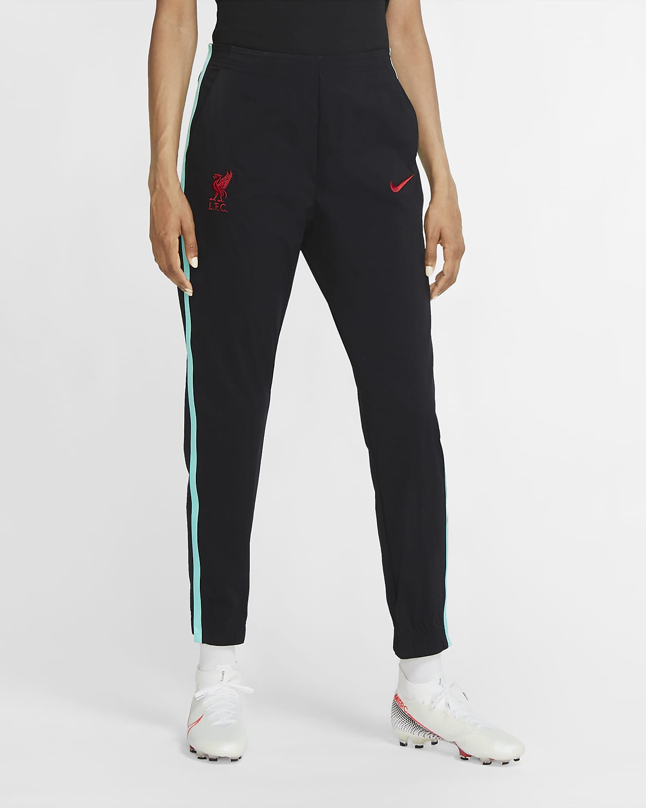 Liverpool FC Women's Woven Soccer Pants
