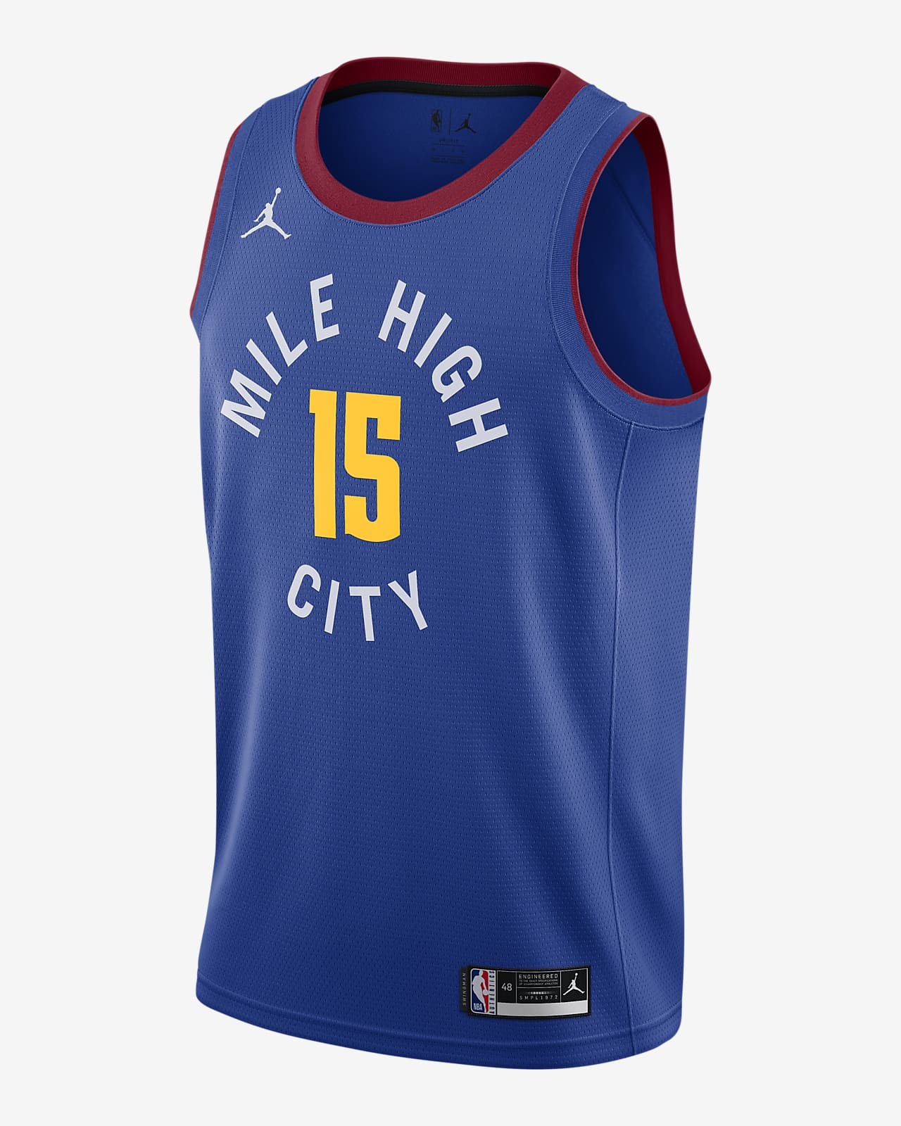 Denver Nuggets Nuggets Statement Edition 2020 Jordan NBA Swingman Jersey