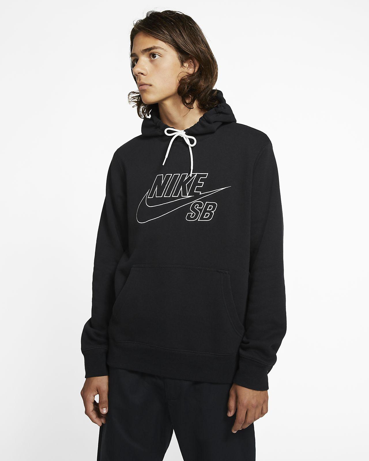 Felpa pullover da skateboard con cappuccio Nike SB