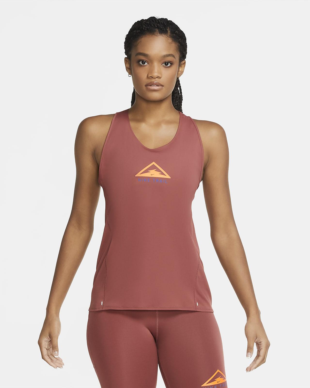 Женская майка для трейлраннинга Nike City Sleek