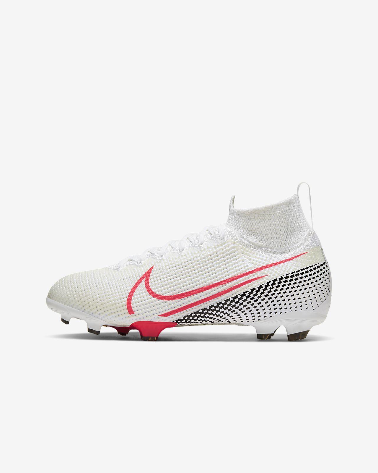 Korki piłkarskie na twardą murawę dla dzieci Nike Jr. Mercurial Superfly 7 Elite FG