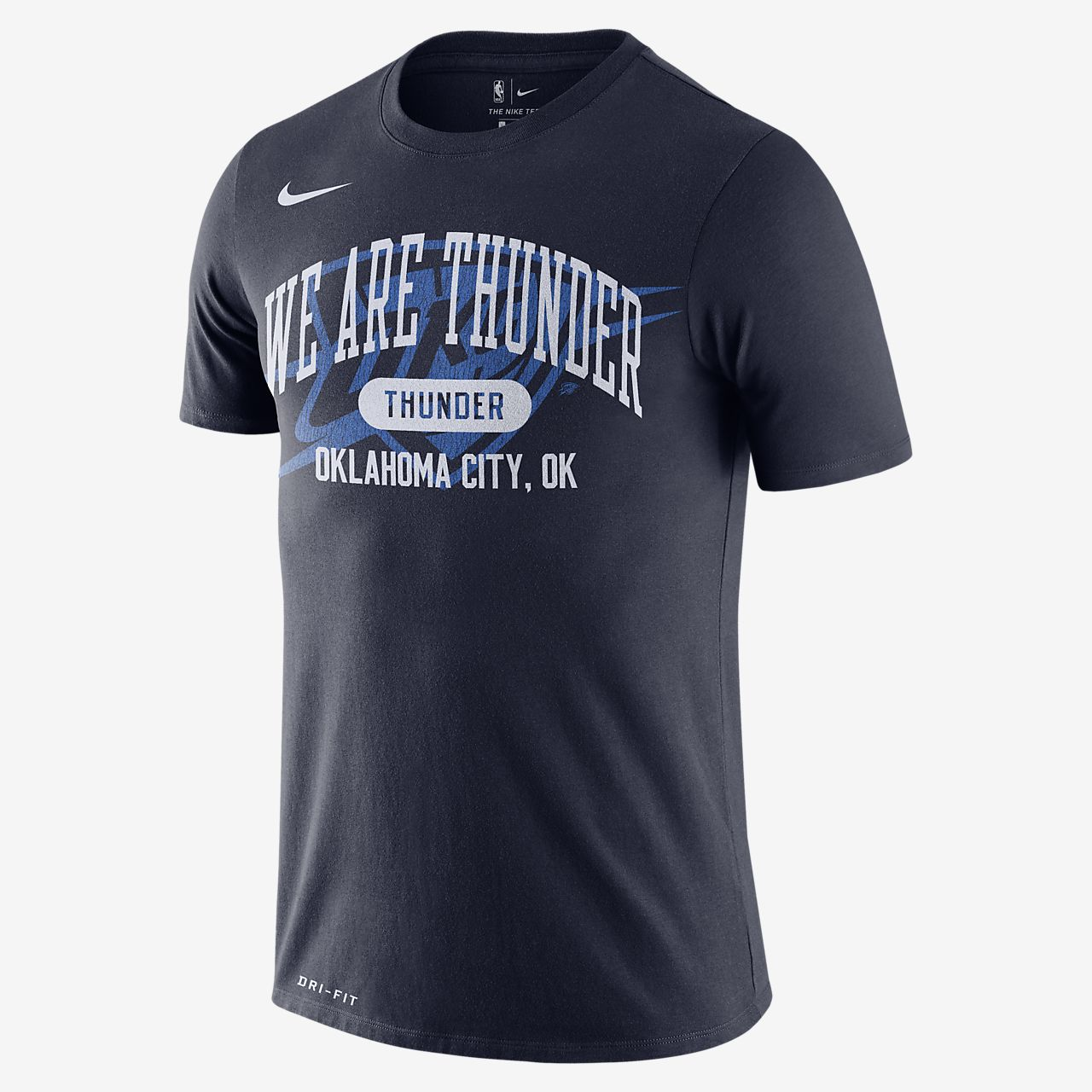 俄克拉荷马城雷霆队 Nike Dri-FIT NBA 男子T恤