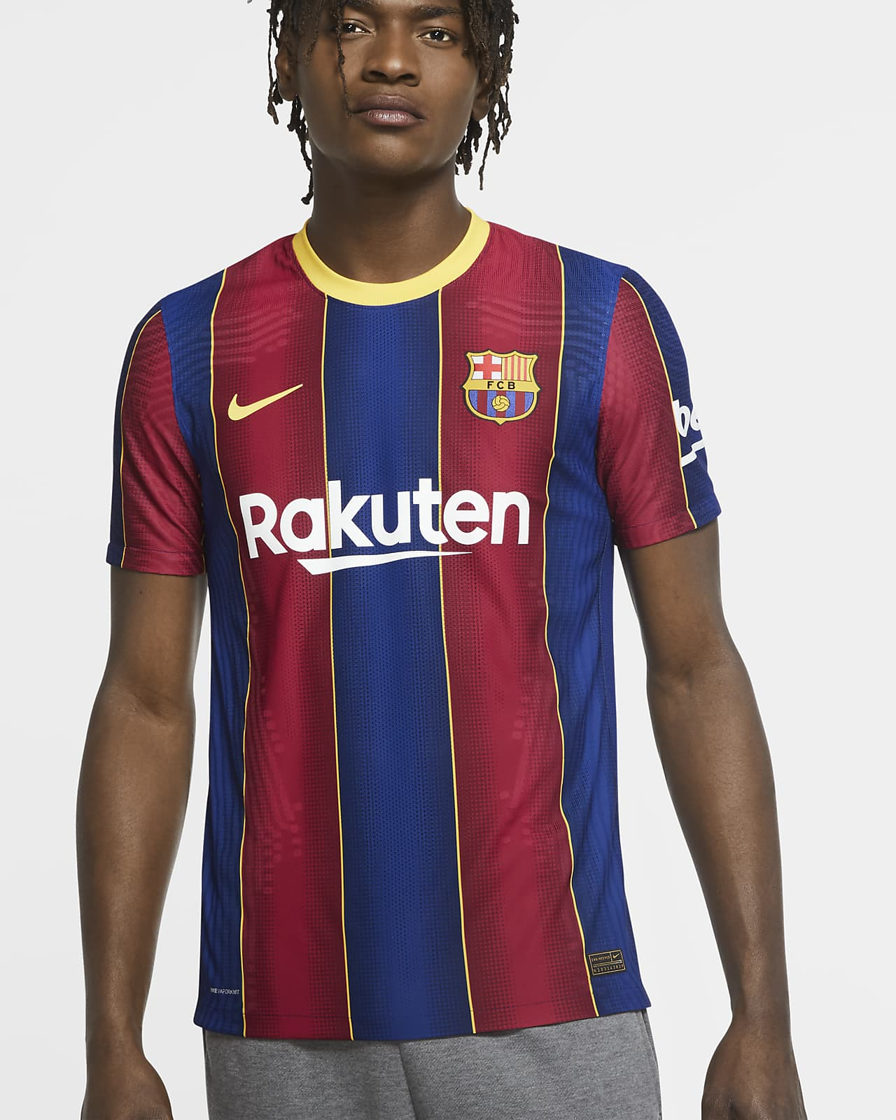 F.C. Barcelona 2020/21 Vapor Match Home Men's Football Shirt
