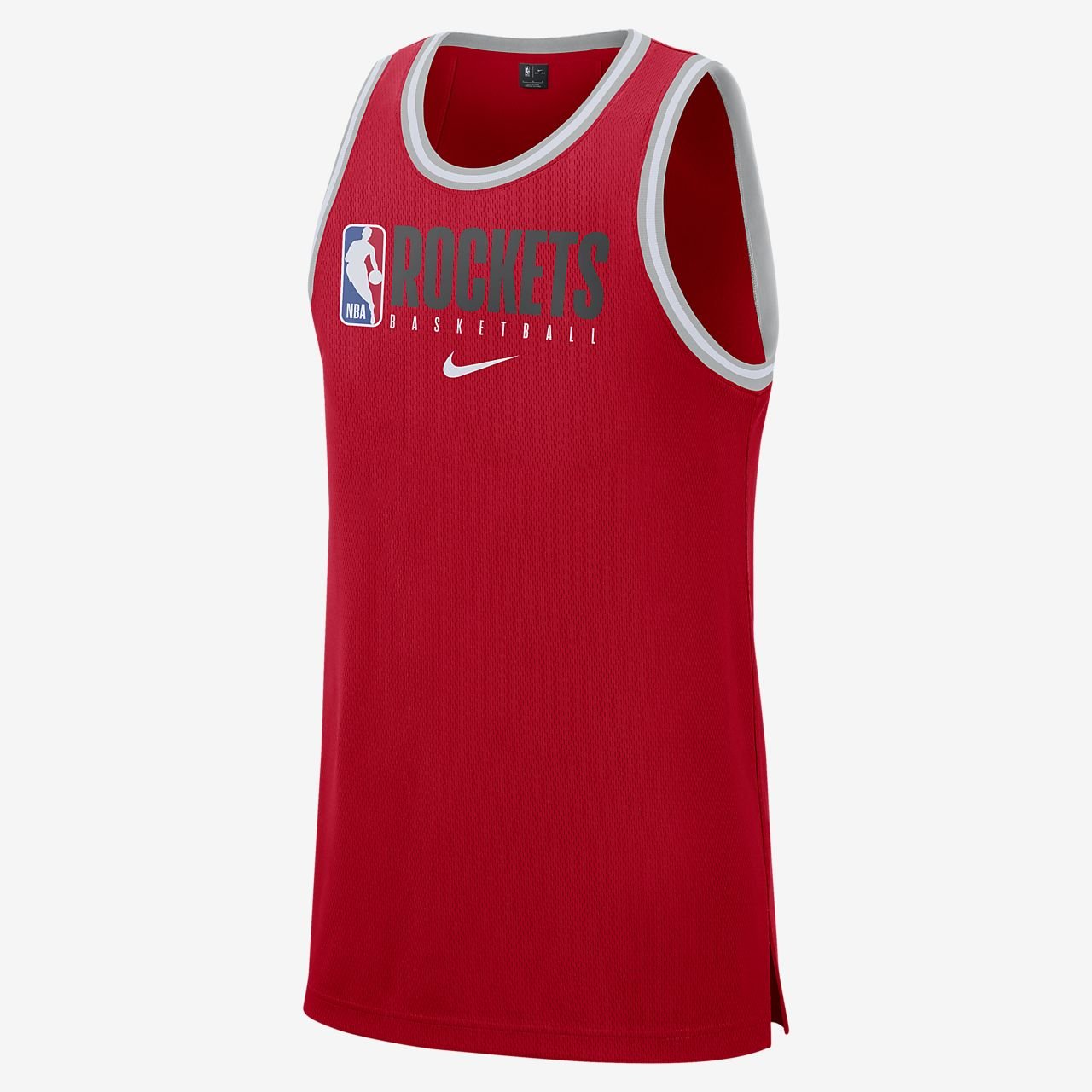Houston Rockets Nike Dri FIT NBA tanktop til mænd