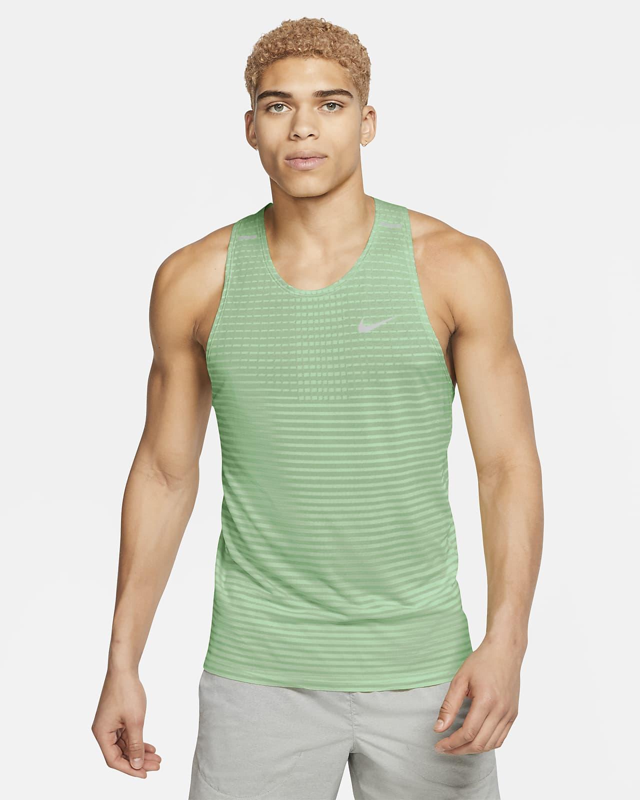 Męska koszulka bez rękawów do biegania Nike Techknit Ultra