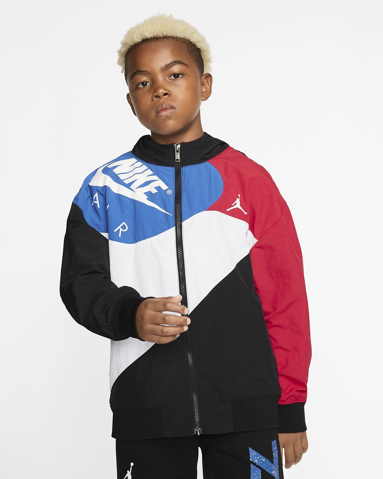 Essentials Boys Full-Zip Active Jacket