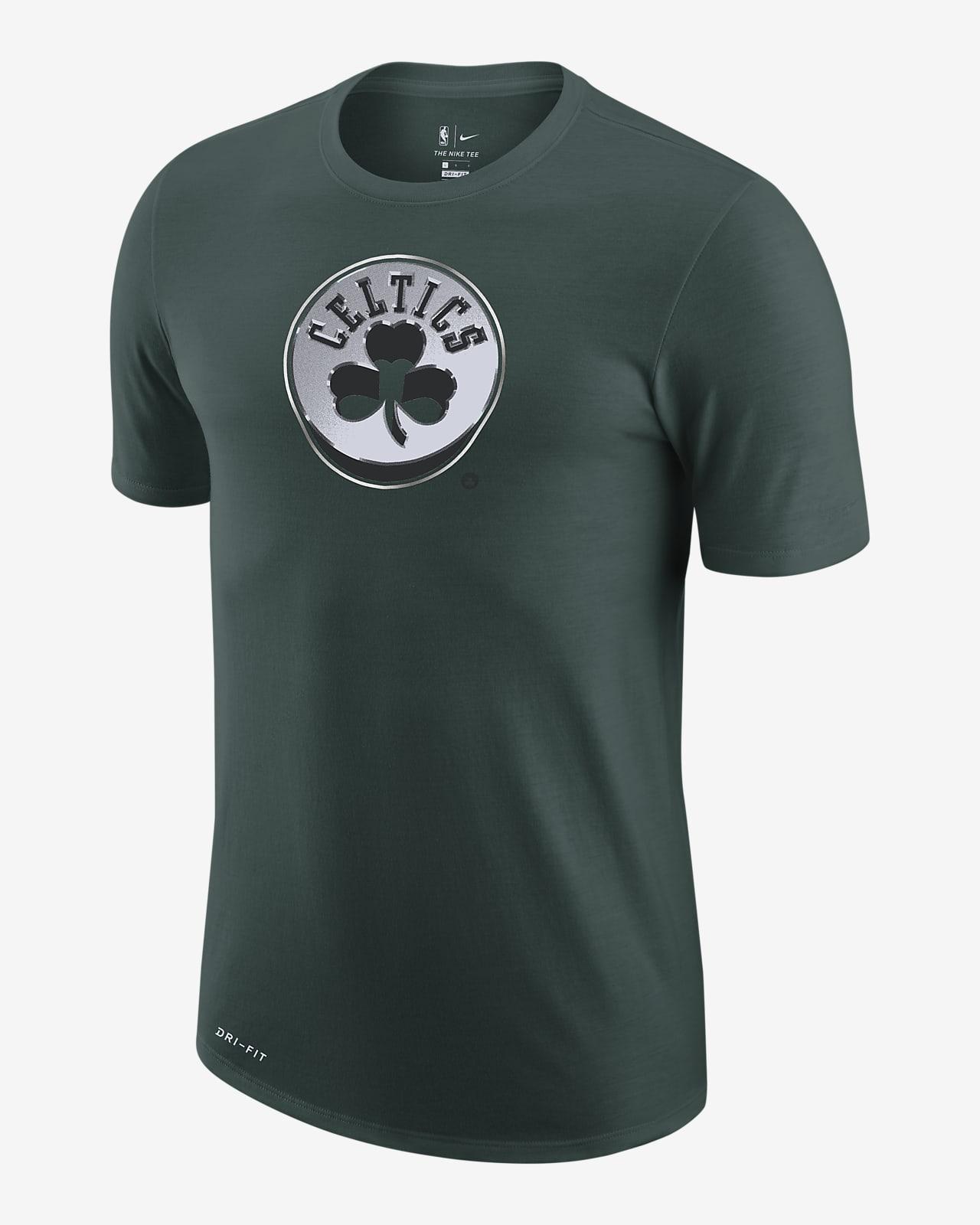 Męski T-shirt z logo Nike Dri-FIT NBA Boston Celtics Earned Edition
