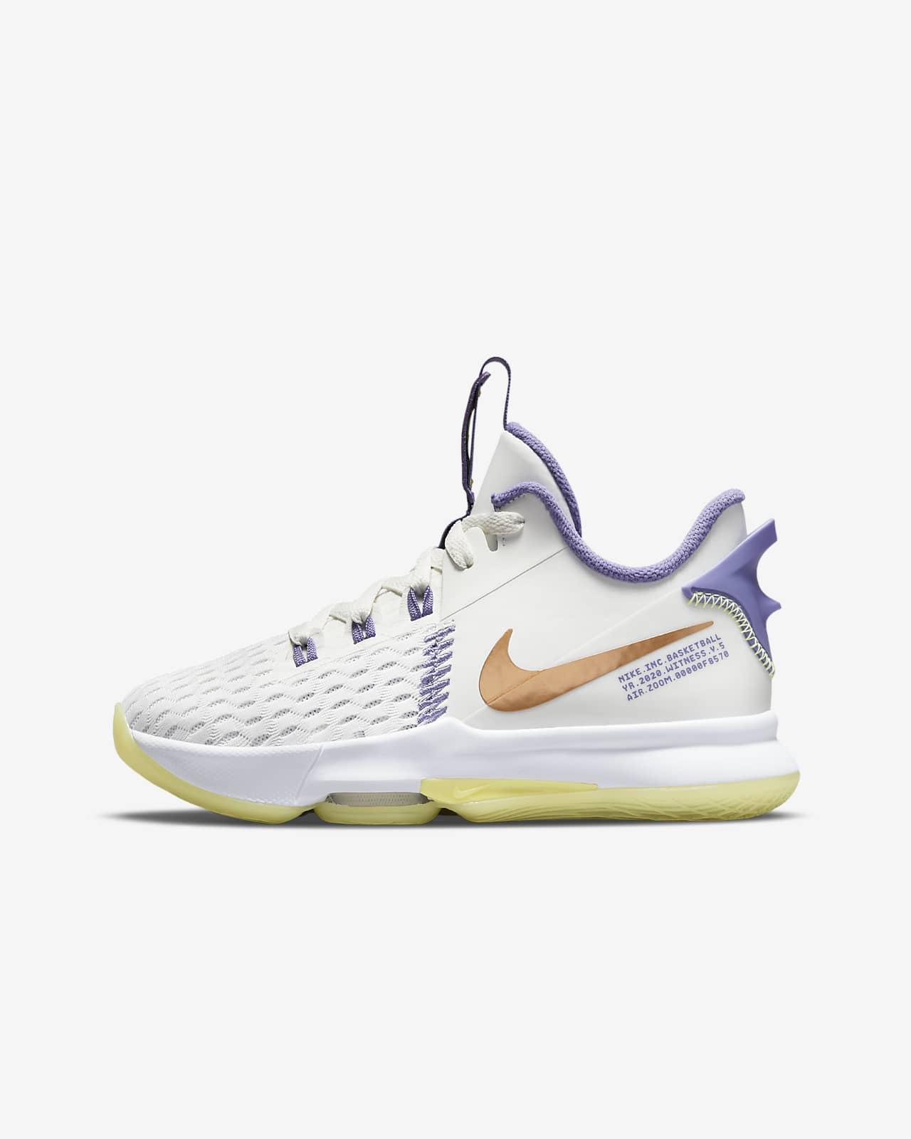 LeBron Witness 5 Big Kids' Basketball Shoes