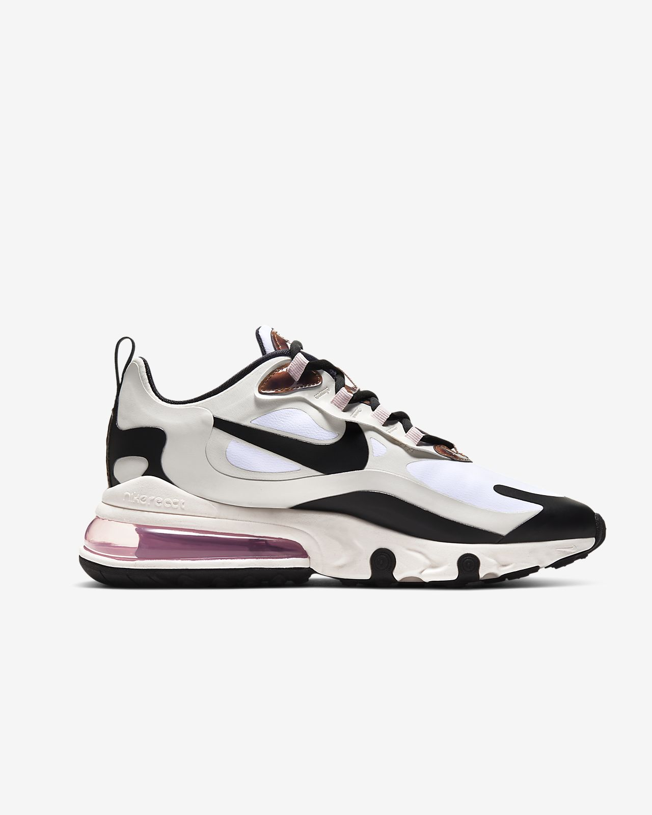 air max 270 react pink and grey