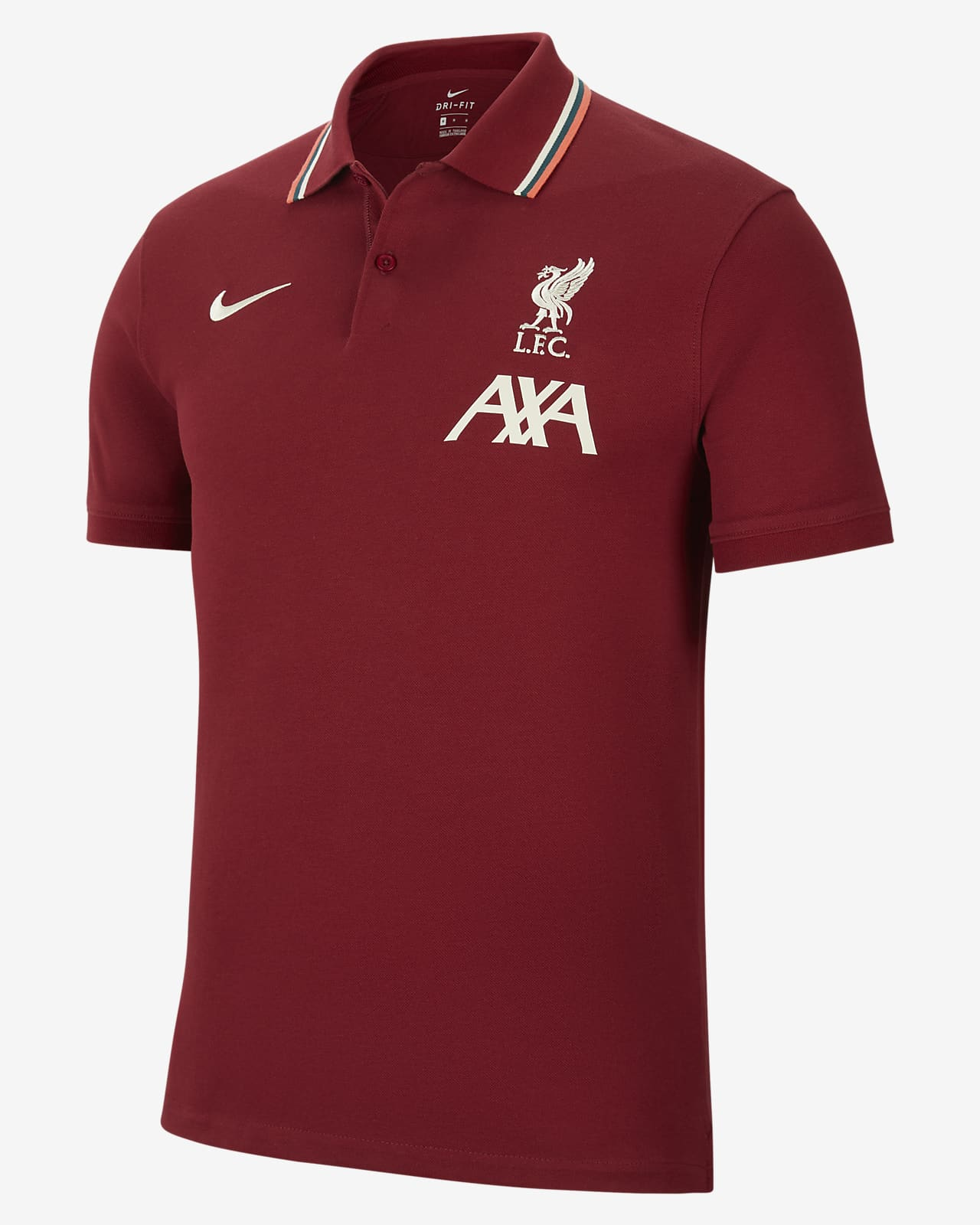 The Nike Polo Liverpool F.C. Men's Slim-Fit Polo
