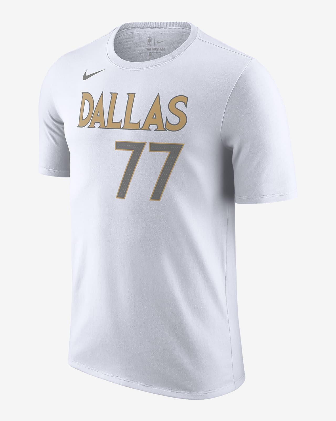 Playera Nike NBA para hombre Dallas Mavericks City Edition