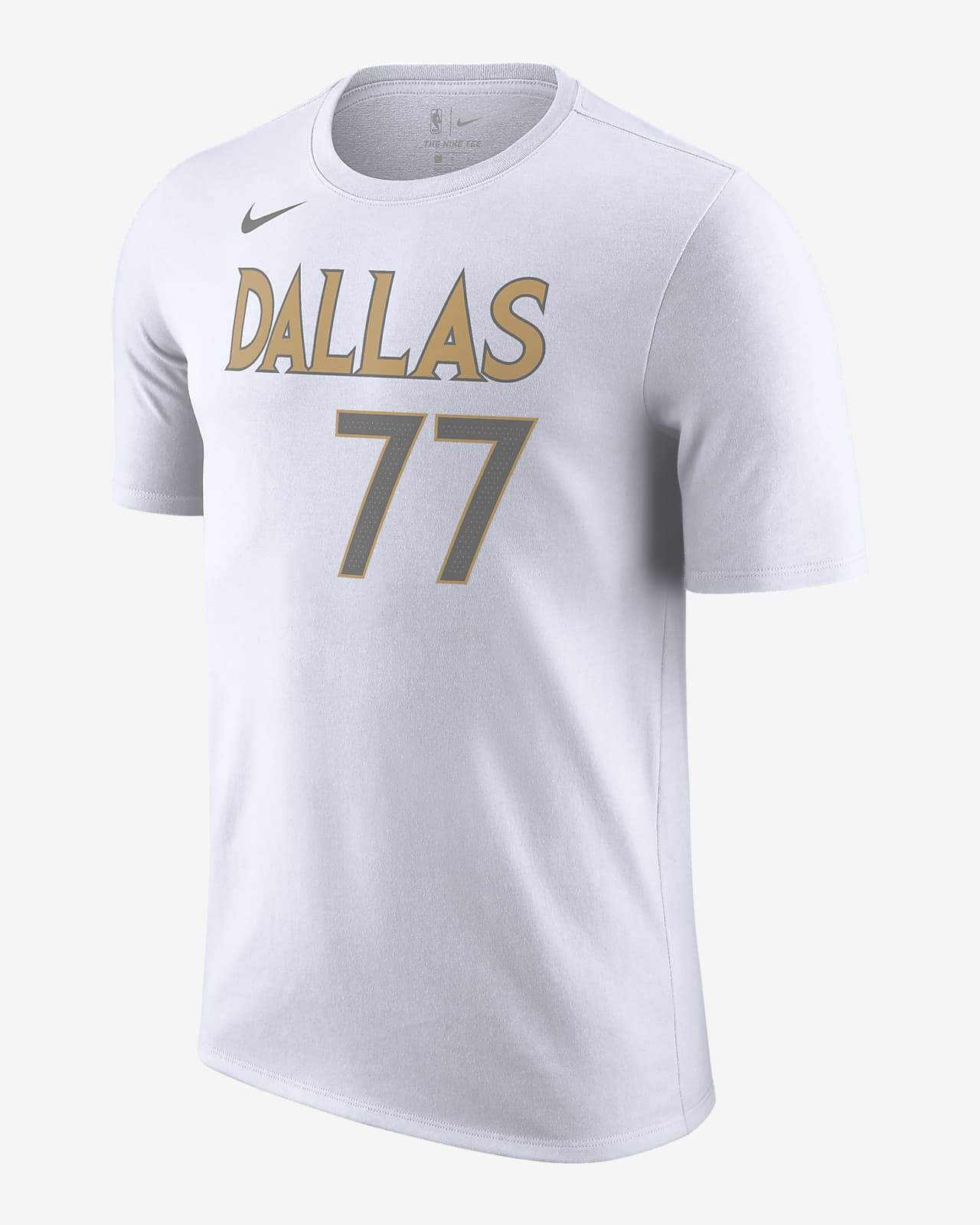 T-shirt Dallas Mavericks City Edition Nike NBA - Uomo