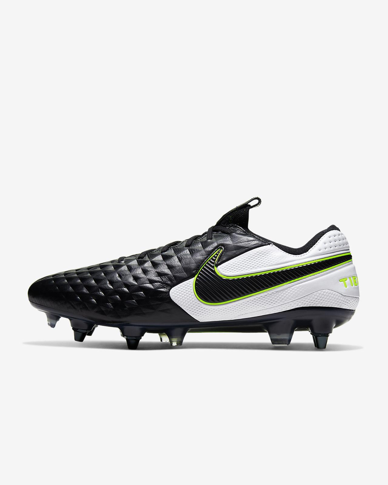 Chaussure de football à crampons pour terrain gras Nike Tiempo Legend 8  Elite SG-PRO Anti-Clog Traction