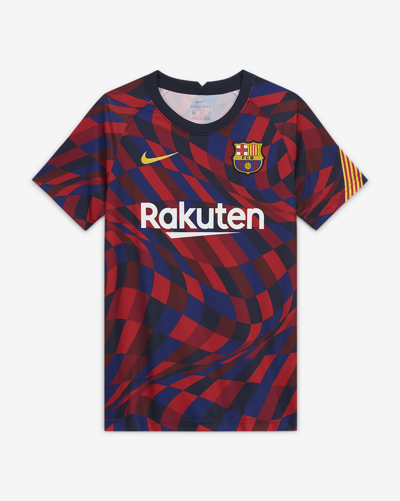 F.C. Barcelona Older Kids' Short-Sleeve Football Top