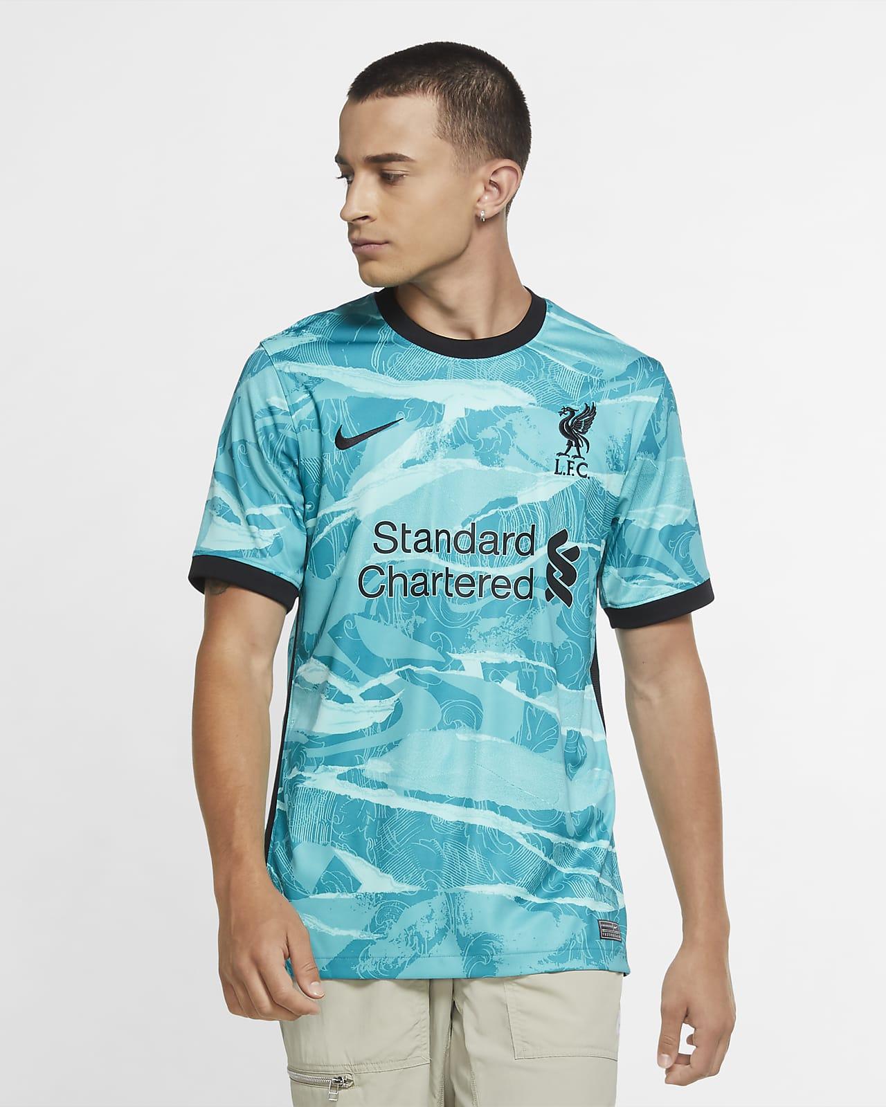 Camiseta de fútbol para hombre Liverpool FC de visitante Stadium 2020-2021