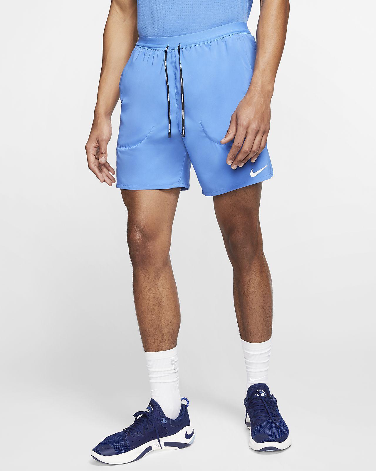 "Nike Aero Swift Max  7/"" 18 cm approx 2-in-1 RUNNING Shorts Size S M Black"