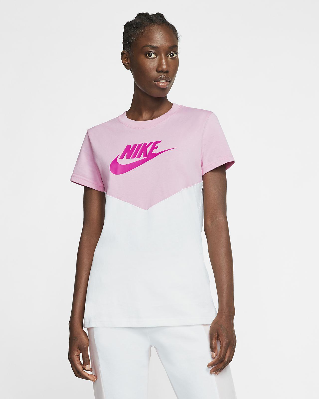 Nike Sportswear Heritage overdel med korte ærmer til kvinder