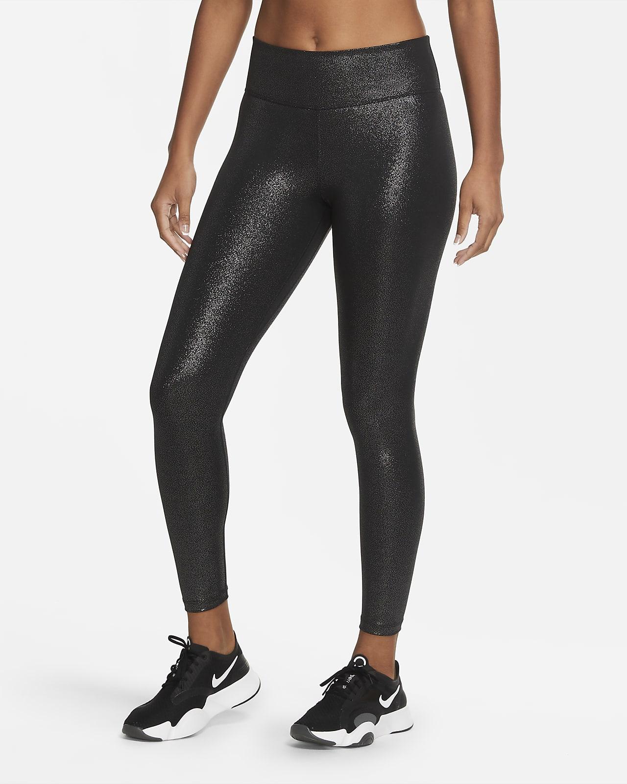 Legging 7/8 scintillant Nike One pour Femme