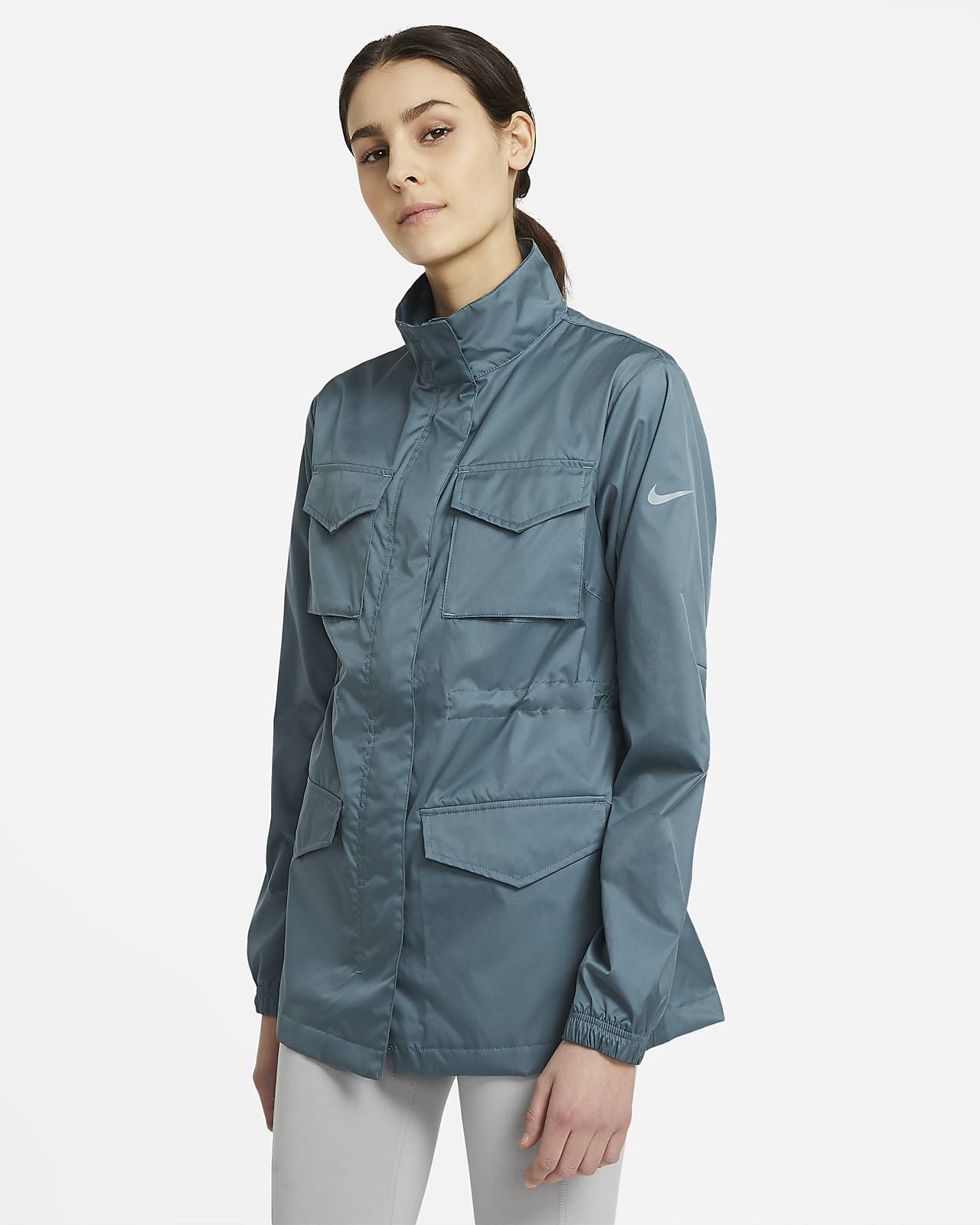 Chamarra M 65 de tejido woven para mujer Nike Sportswear