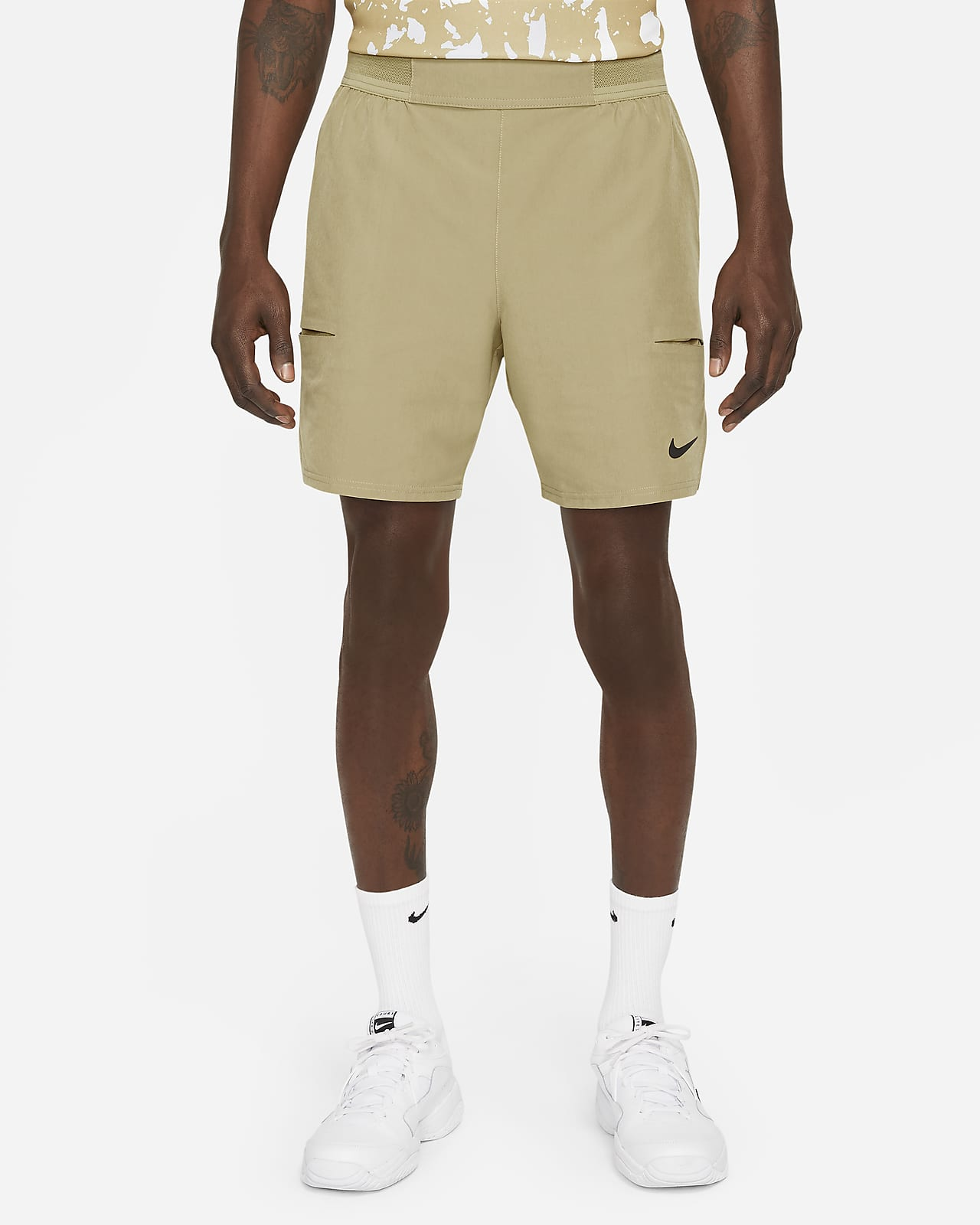 Short de tennis NikeCourt Dri-FIT Advantage 18 cm pour Homme